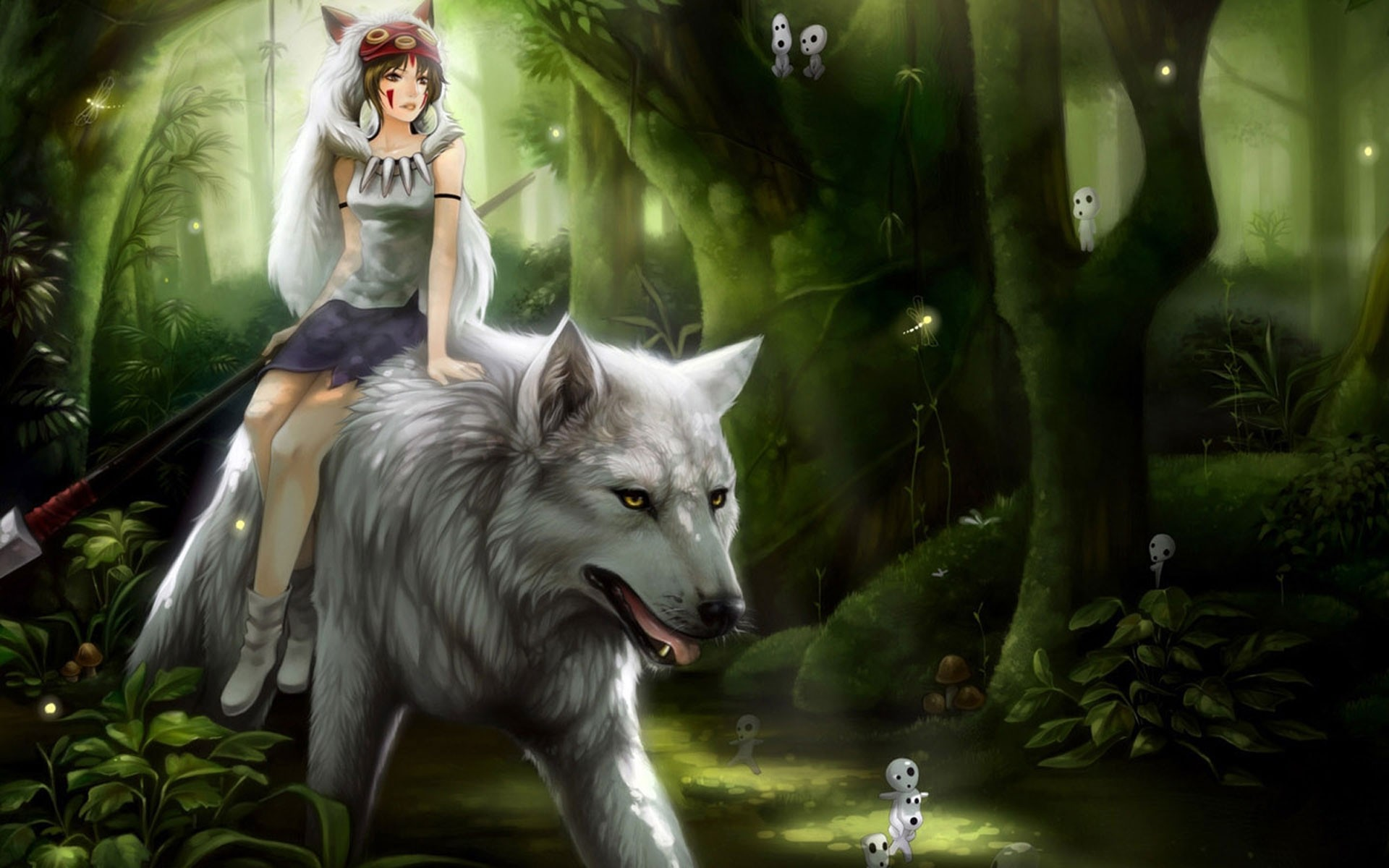 Res: 1920x1200, animated wolf desktop wallpaper wallpaper gallery a· anime