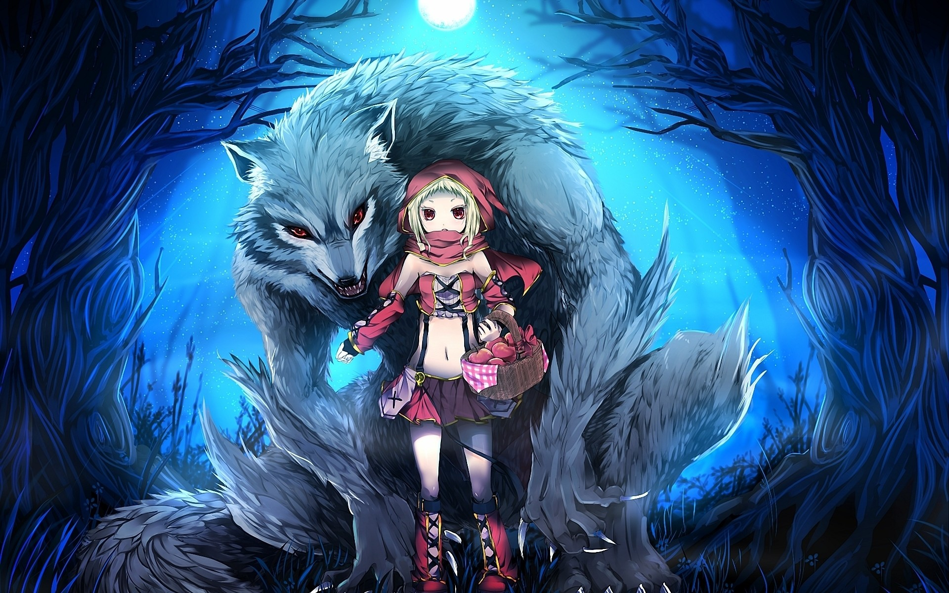 Res: 1920x1200, Download Wallpaper  Lulu season, Little red riding hood .