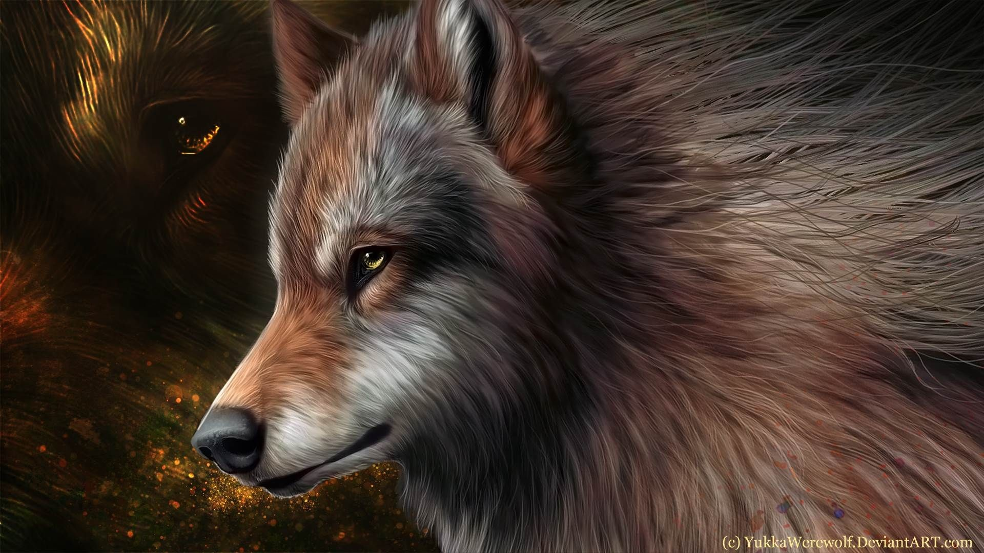 Res: 1920x1080, Collection of Animated Wolf Wallpapers on HDWallpapers 1600×1200 Animated  Wolf Wallpapers | Adorable Wallpapers
