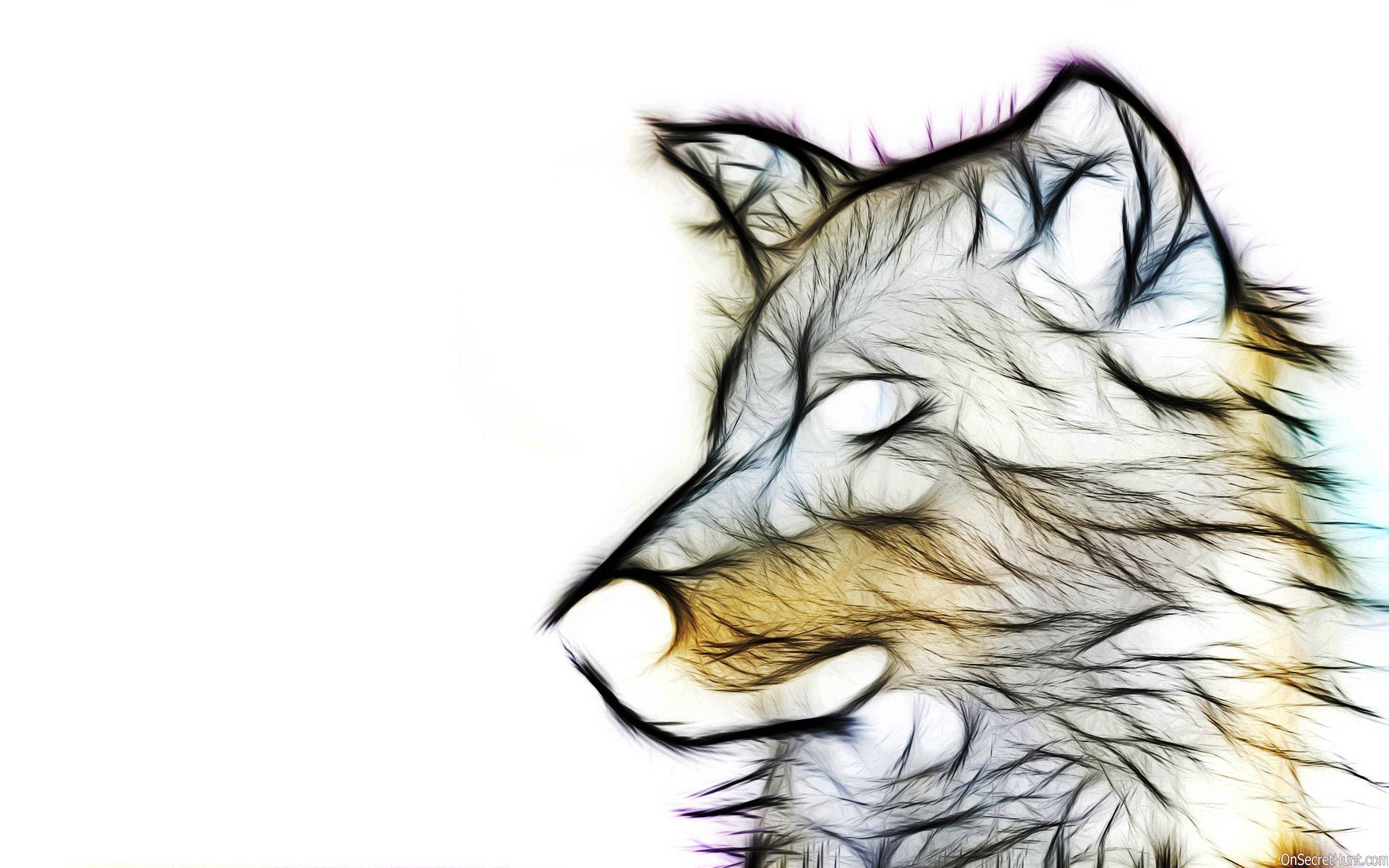 Res: 1920x1200, 3d animal wallpaper hd-Wolf Wallpaper