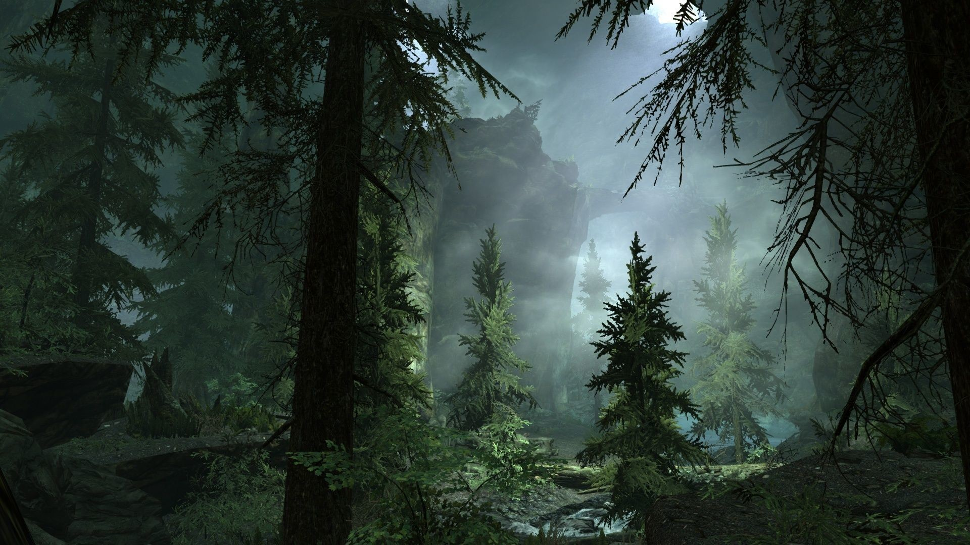 Res: 1920x1080, Foggy Forest Wallpaper High Definition For Free Wallpaper