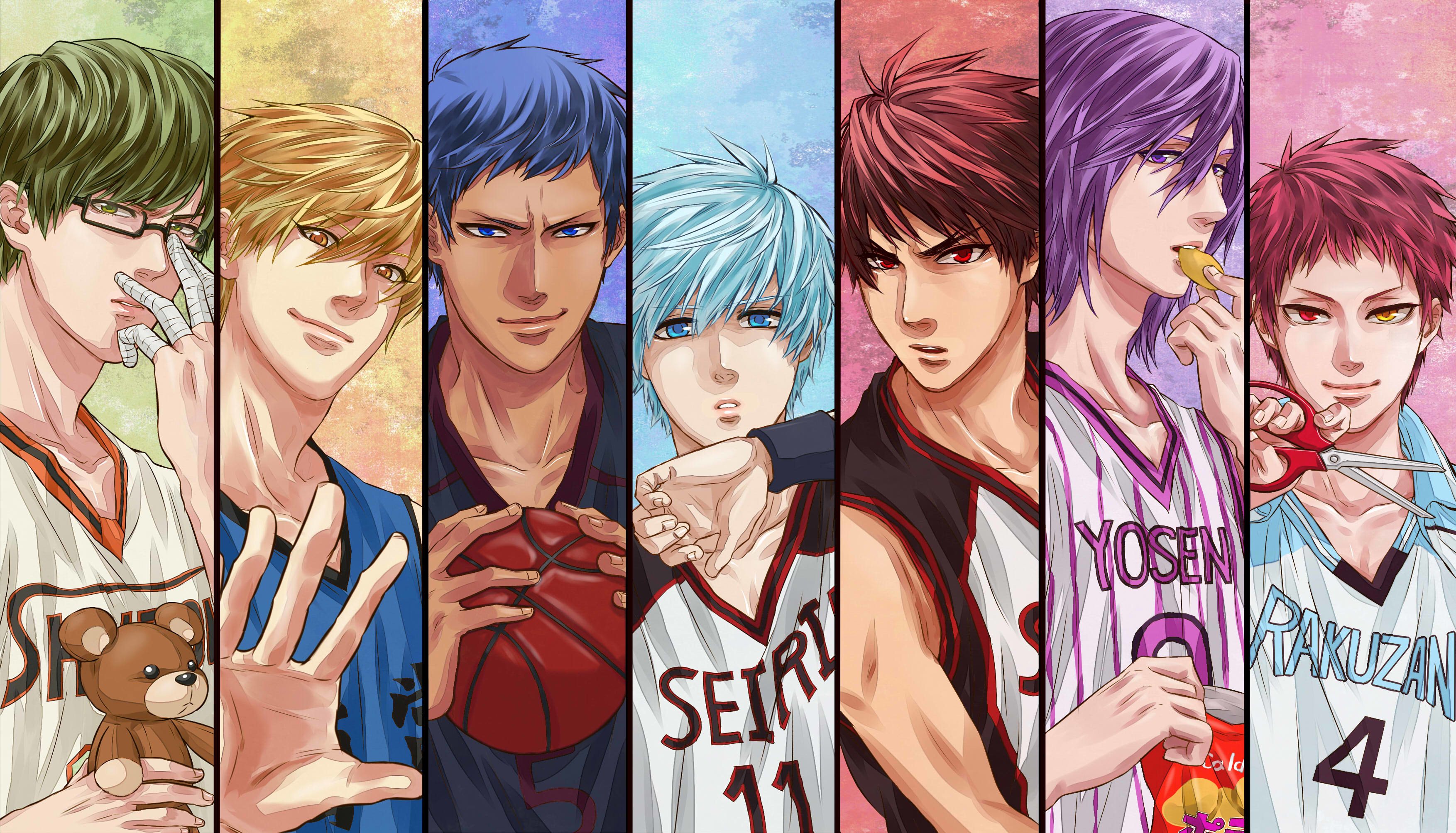 Res: 3507x2007, 111 Kuroko's Basketball HD Wallpapers | Background Images - Wallpaper Abyss