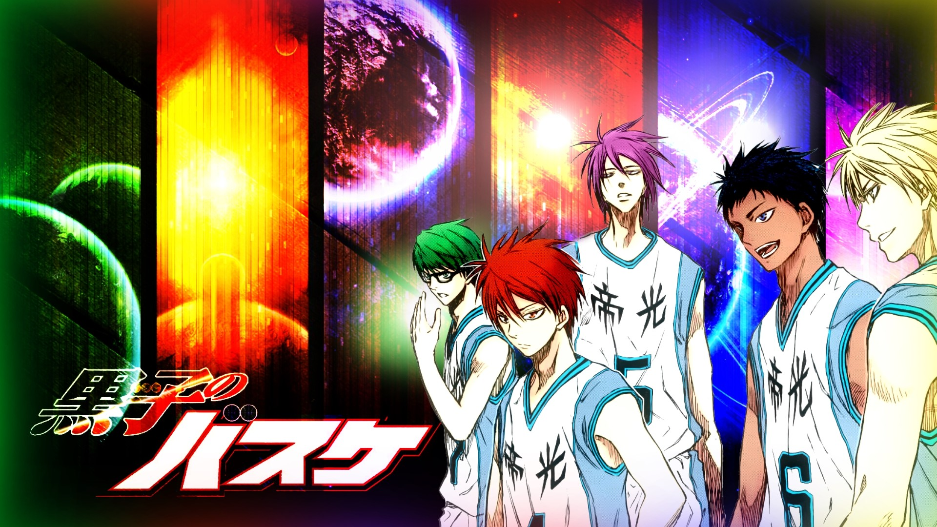 Res: 1920x1080, [Kuroko no Basuke] Miracle Generation () Need #iPhone #6S #Plus # Wallpaper/ #Background for #IPhone6SPlus? Follow iPhone 6S Plus 3Wallpape…