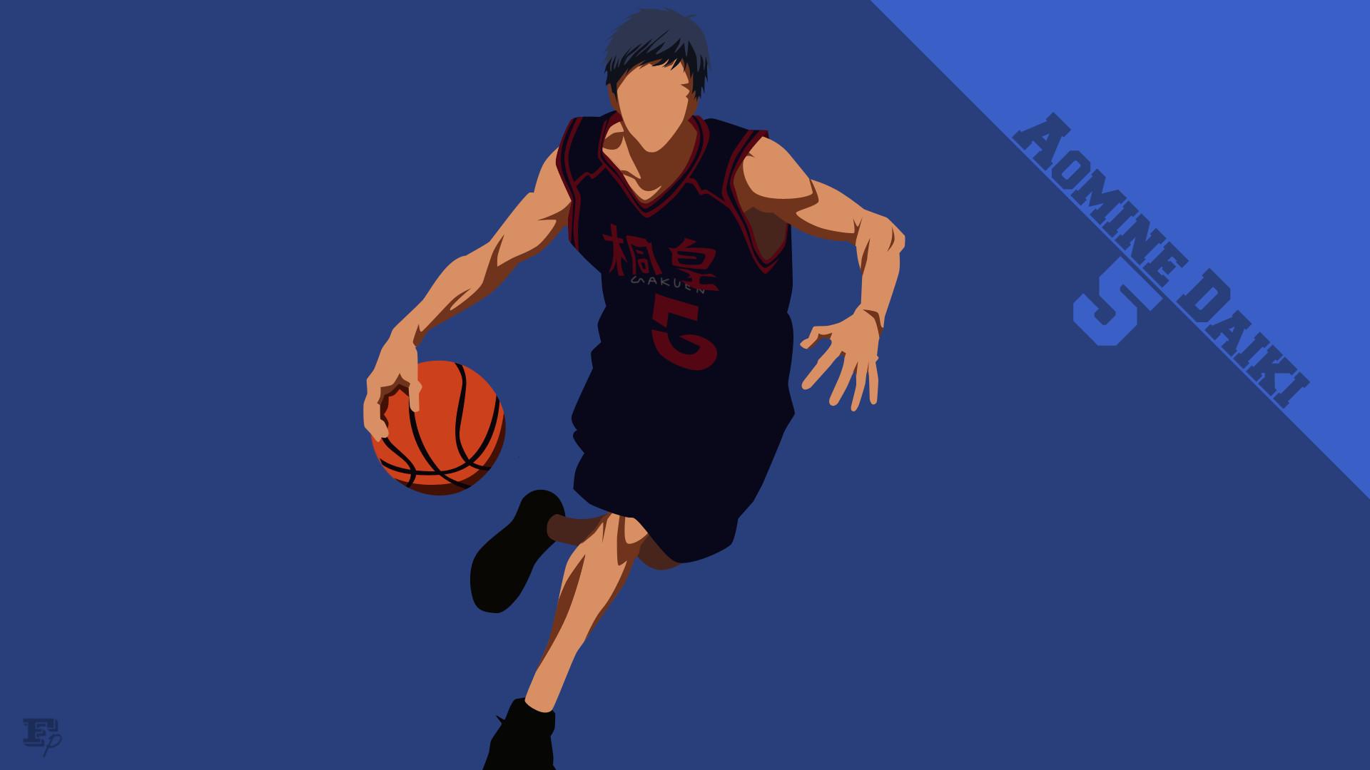 Res: 1920x1080, Anime - Kuroko's Basketball Daiki Aomine Wallpaper