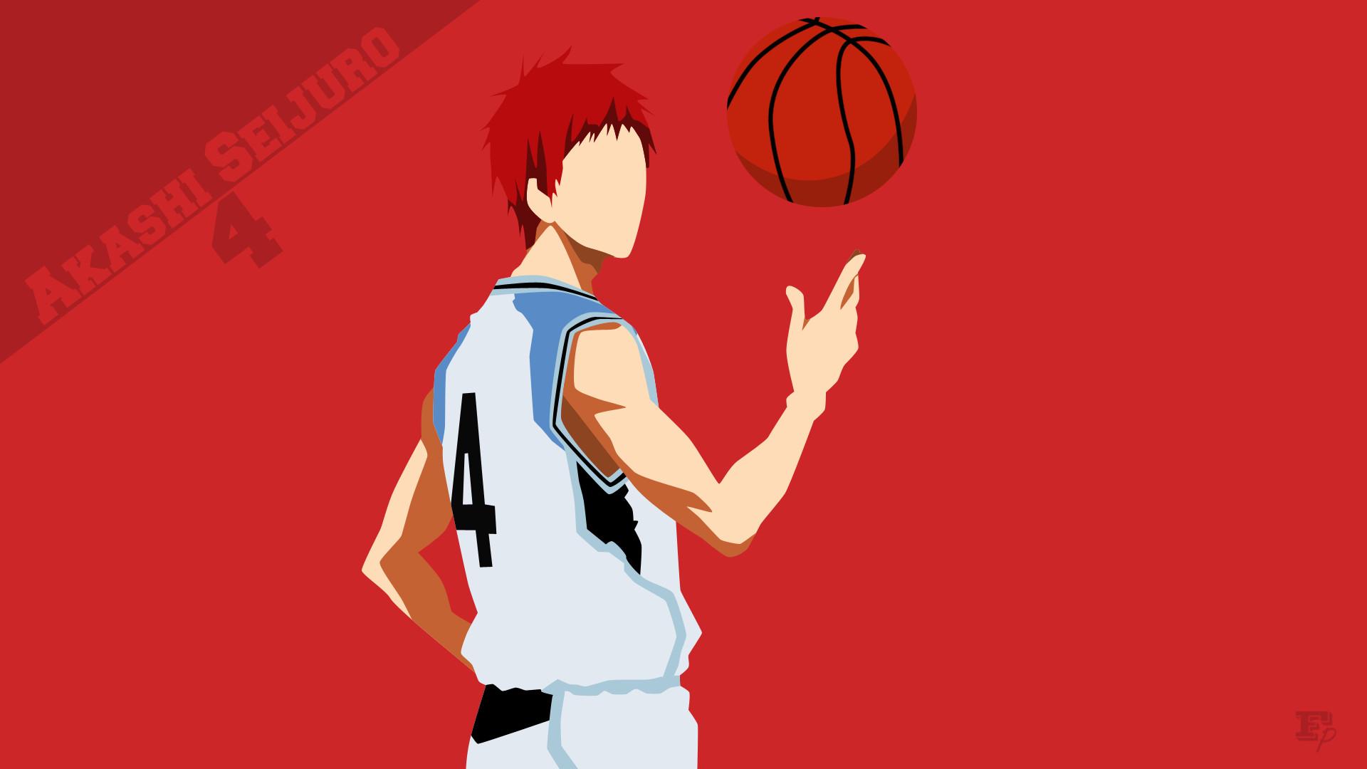 Res: 1920x1080, ... Kuroko no Basket: Akashi Seijuro Minimalist by MrRobotboy