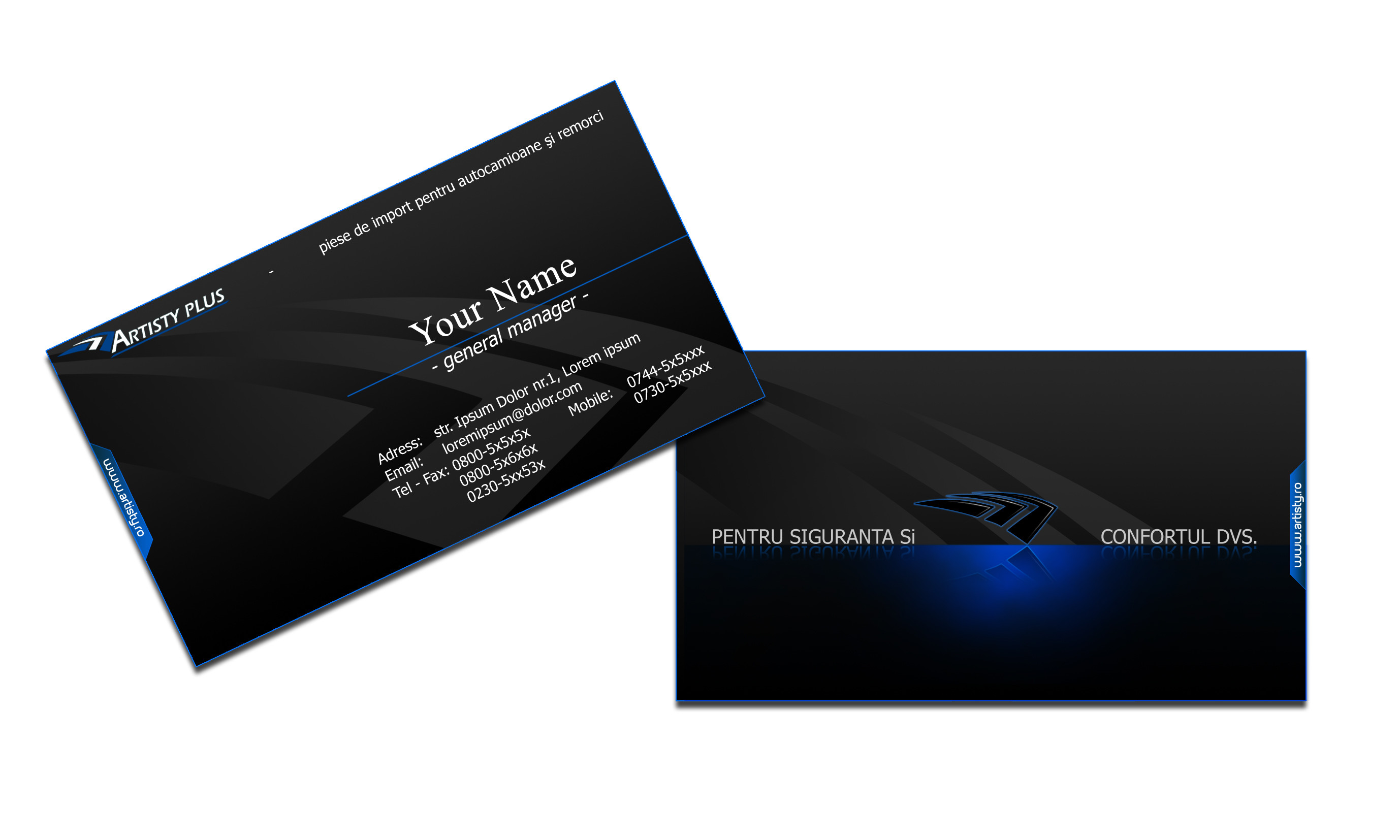 Res: 2756x1654, Black Business Cards Design