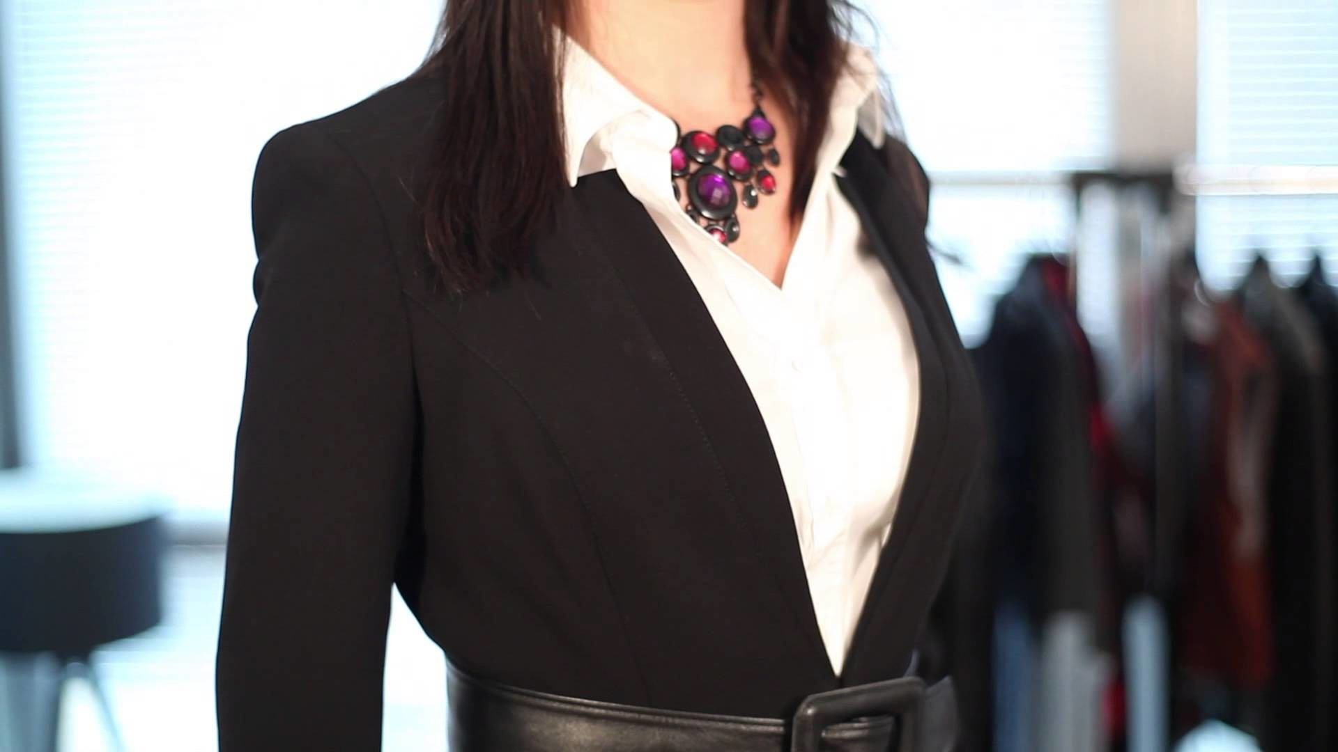 Res: 1920x1080, How Women Should Not Wear a Business Suit : Business Fashion & More -  YouTube