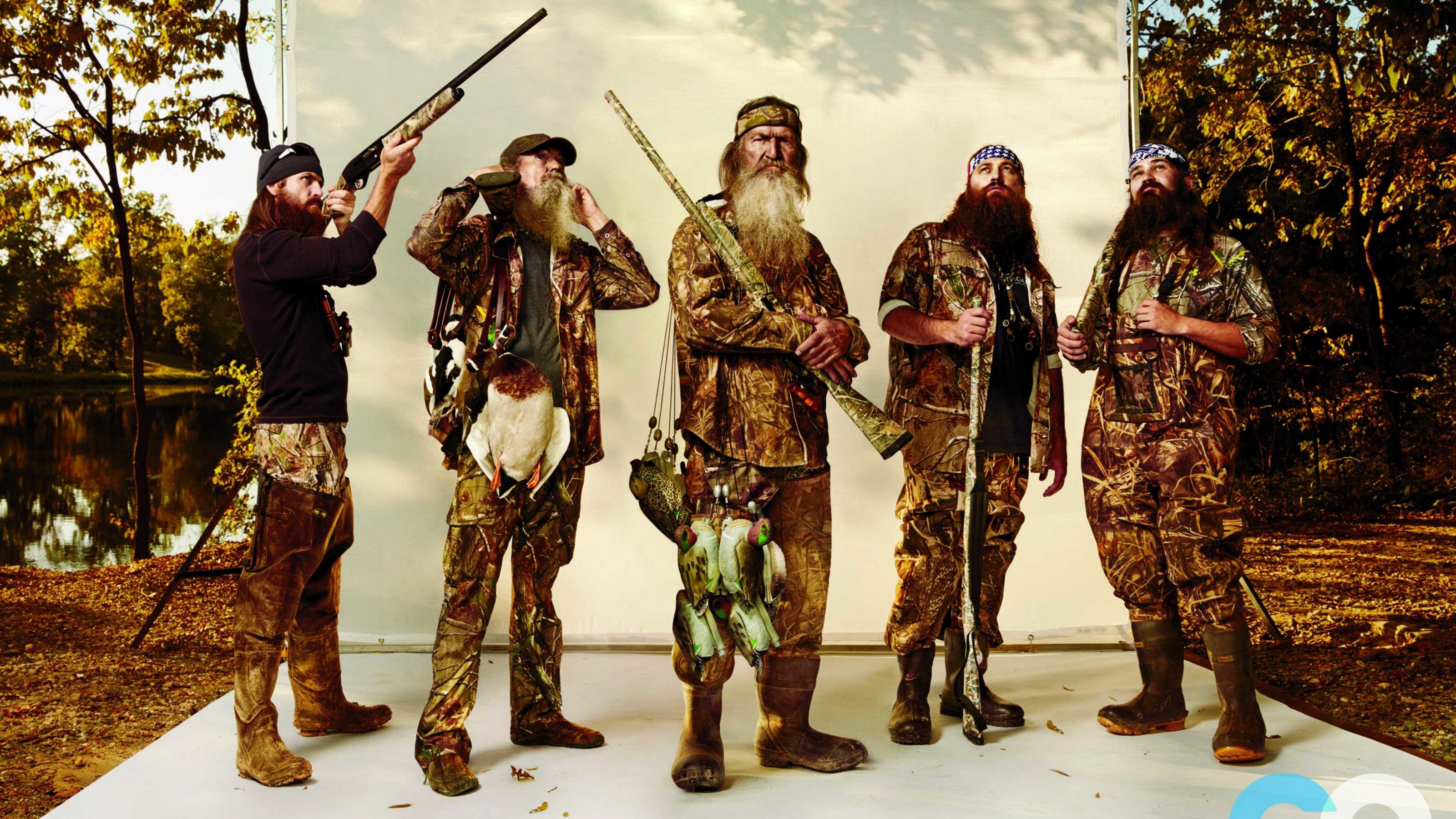 Res: 3200x1800, Duck Dynasty Reality Series Hunting Comedy Wallpaper Photos For Mobile Hd  Pics