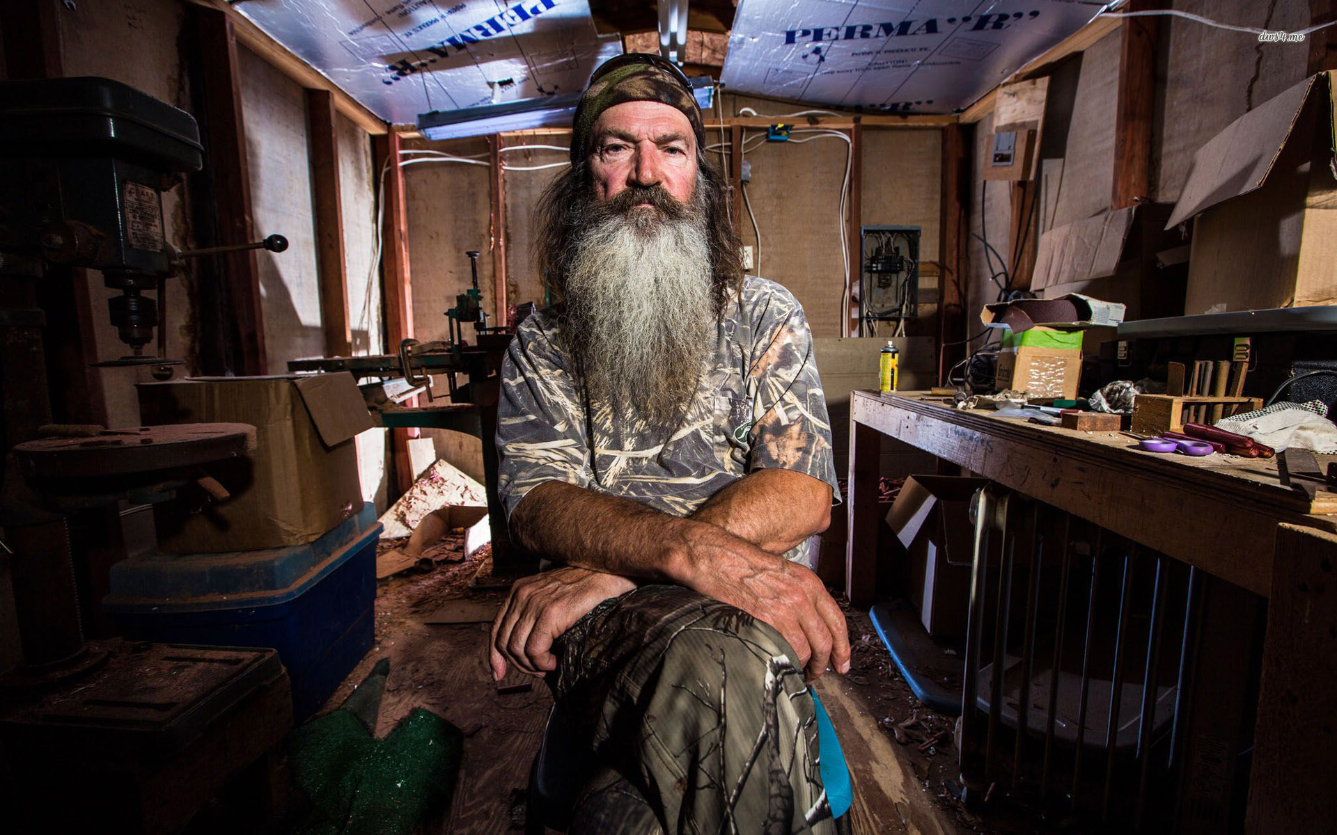 Res: 1920x1200, ... Phil Robertson - Duck Dynasty wallpaper  ...