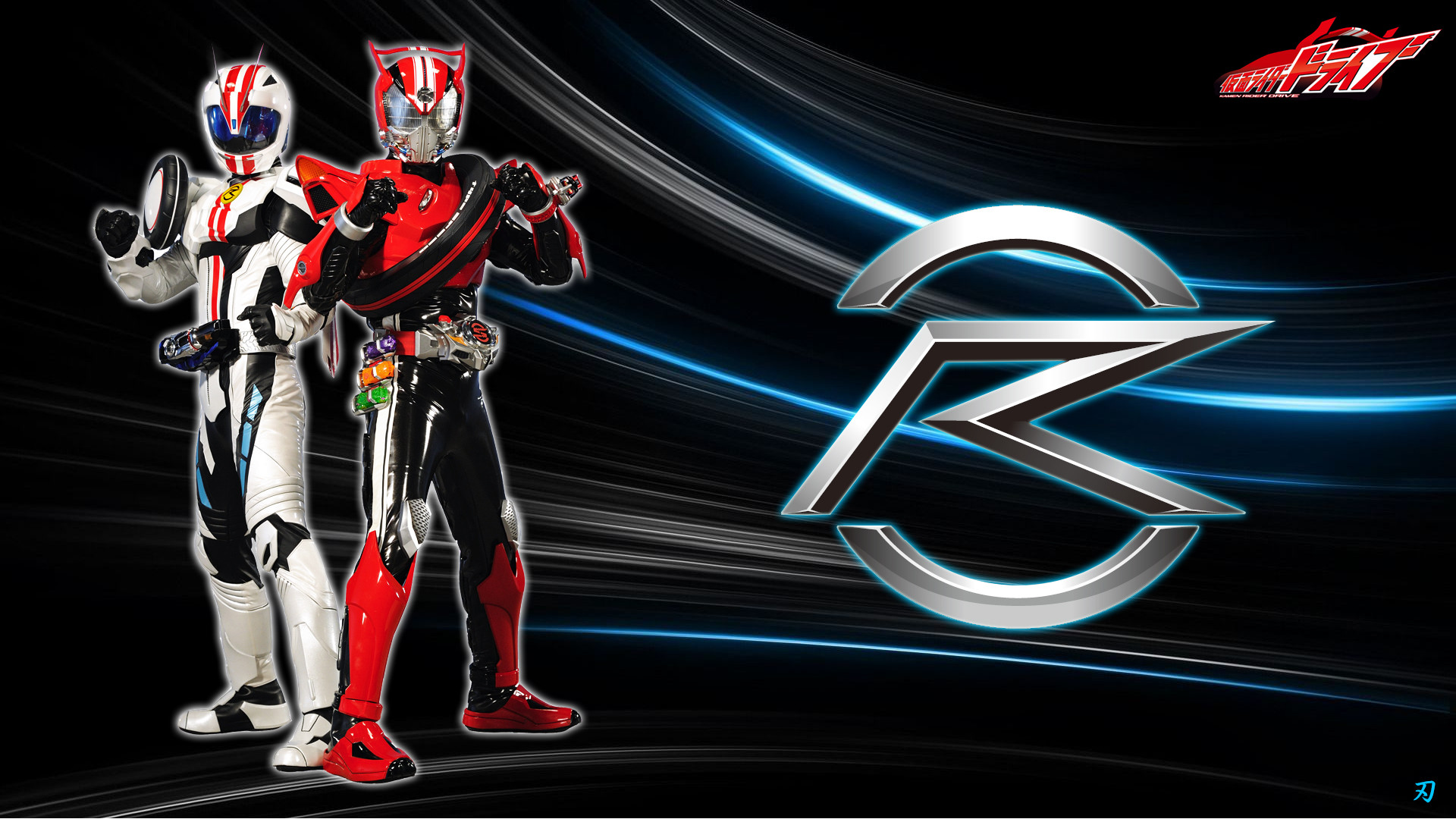 Res: 1920x1080, ... Kamen Rider Drive and Mach by Yaiba1