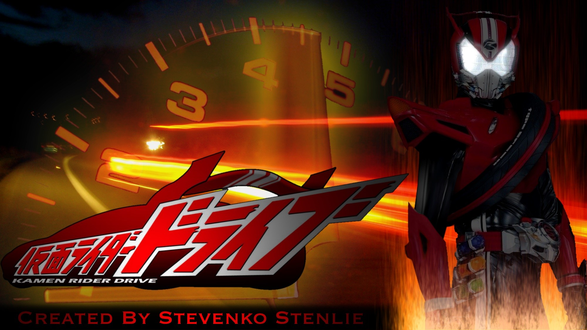 Res: 2000x1127, ... Kamen Rider Drive - Wallpaper by stevenkostenlie