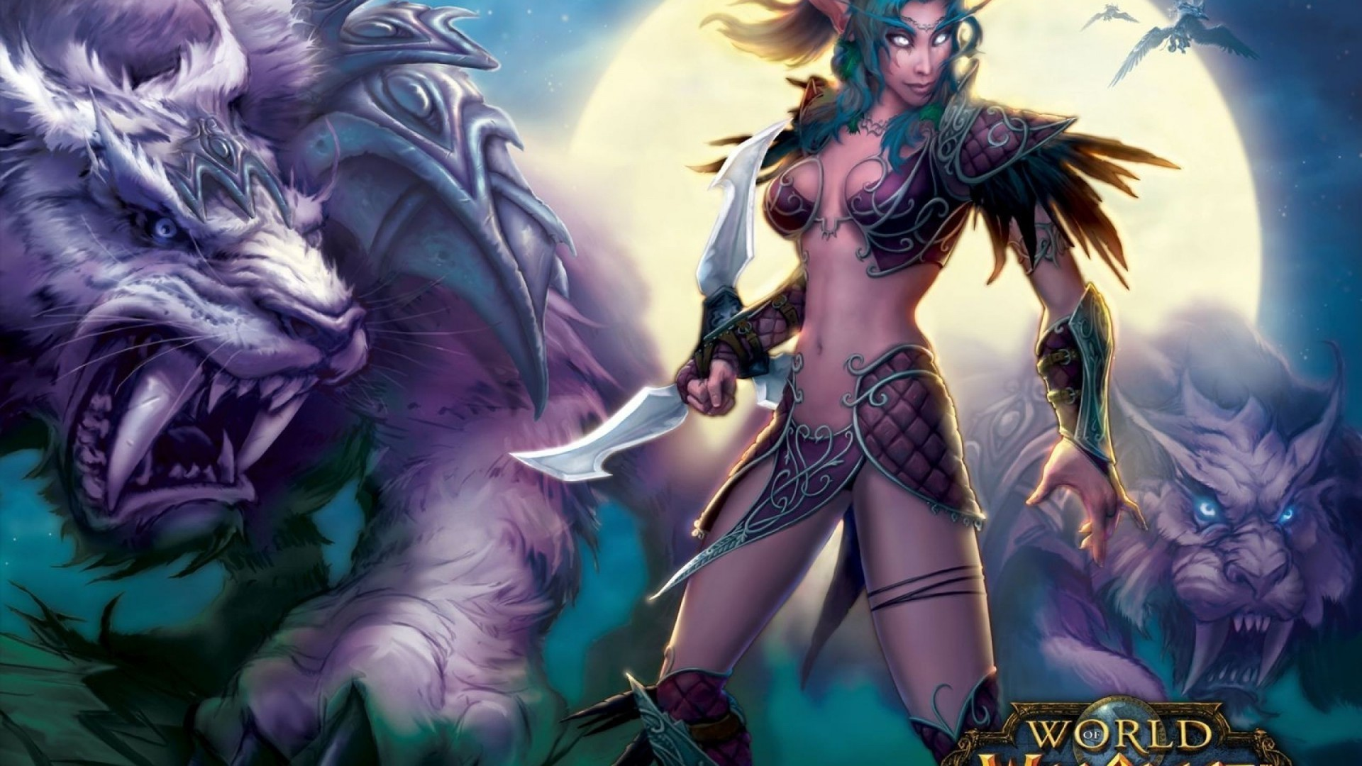 Res: 1920x1080,  Awesome World of Warcraft Game Wallpaper