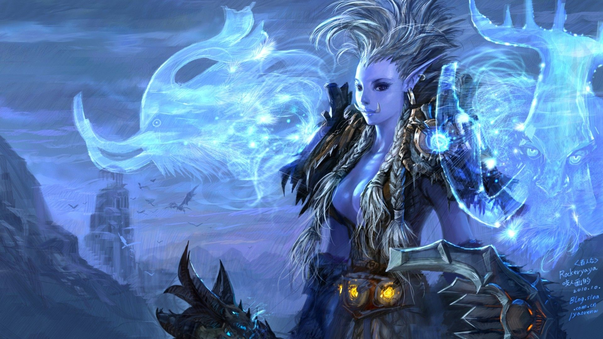 Res: 1920x1080, World Of Warcraft, Wrath Of The Lich King HD desktop wallpaper .