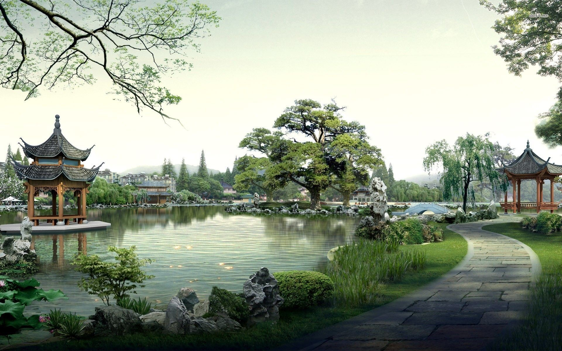 Res: 1920x1200, Chinese Art Wallpaper | chinese landscape wallpaper 4 1152x720 chinese  landscape wallpaper ... | My Favorite Wall Art | Pinterest | Chinese  landscape, ...