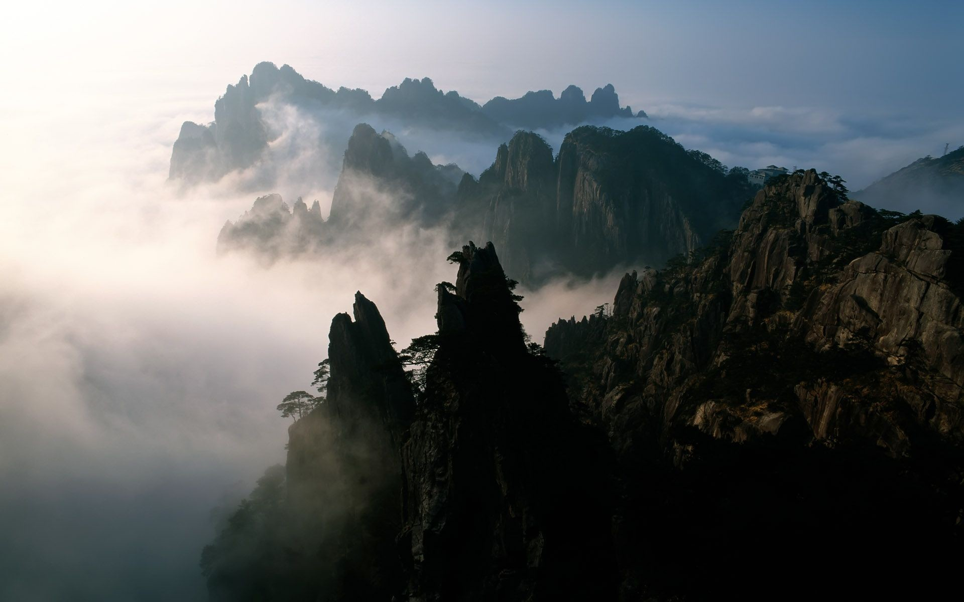 Res: 1920x1200, Other scenery (the first series of Chinese landscape widescreen .
