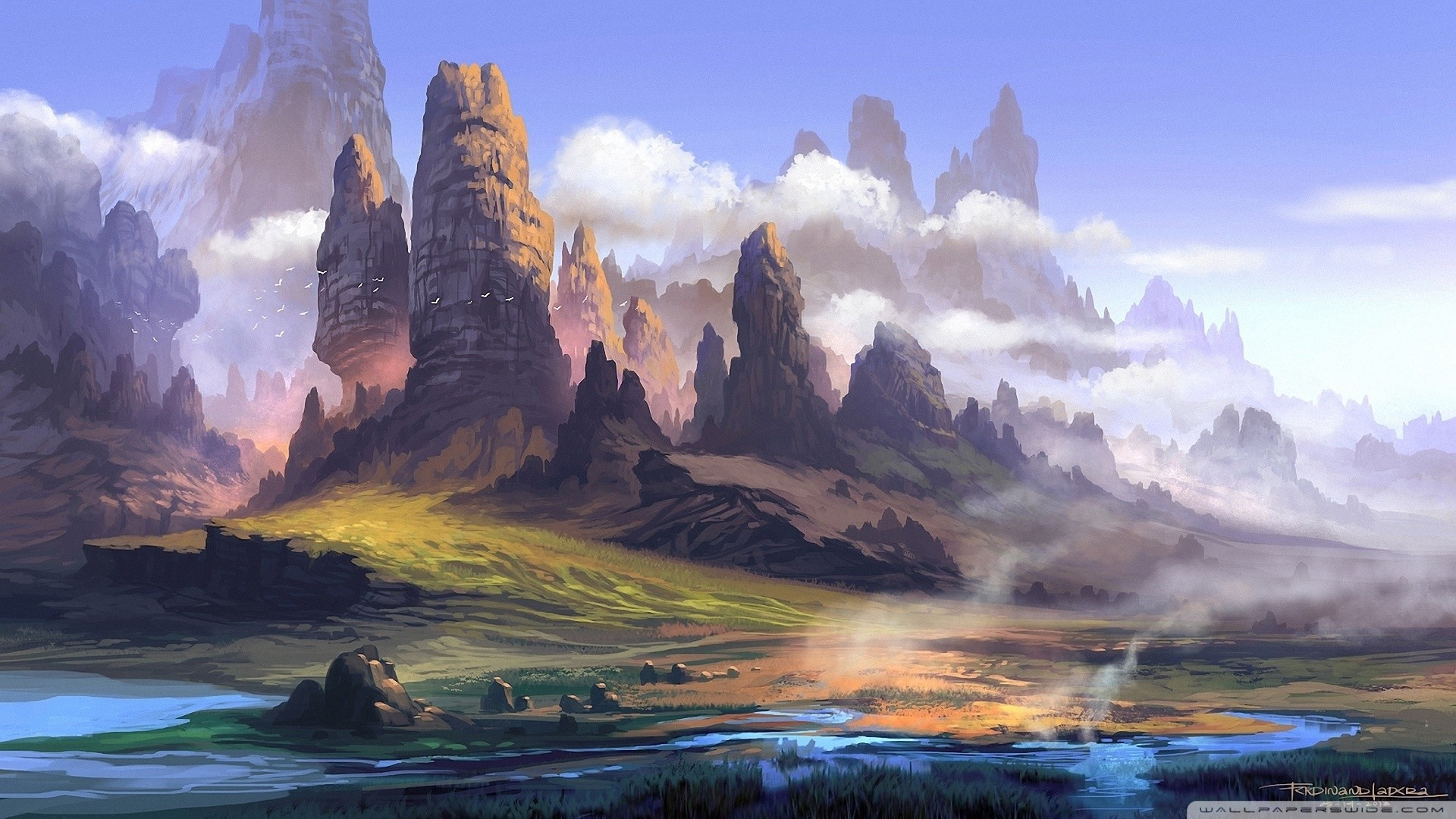 Res: 1920x1080, tags: chinese landscape painting wallpapers, landscape oil painting  wallpaper, landscape painting wallpaper, landscape painting wallpaper hd