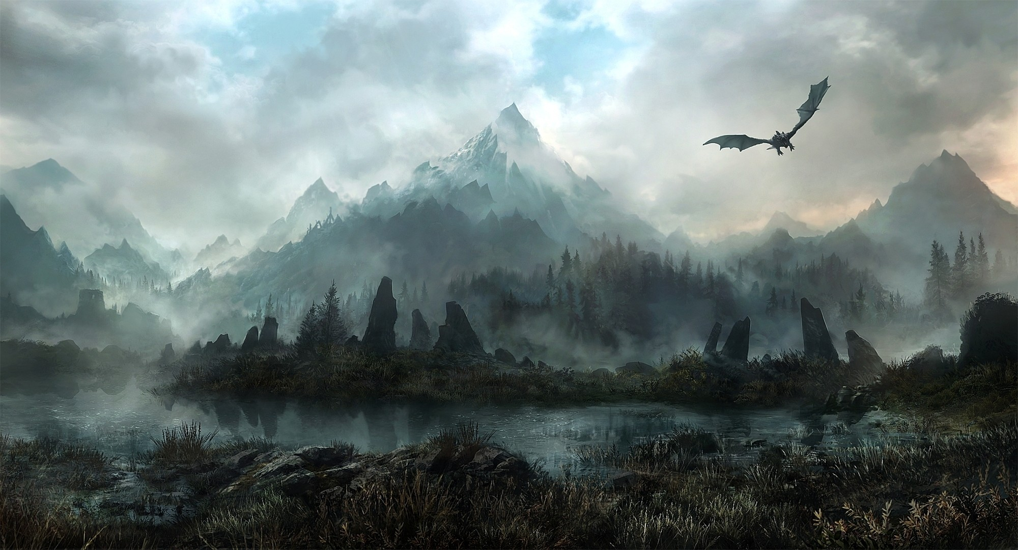 Res: 2000x1080, Skyrim Wallpapers High Quality