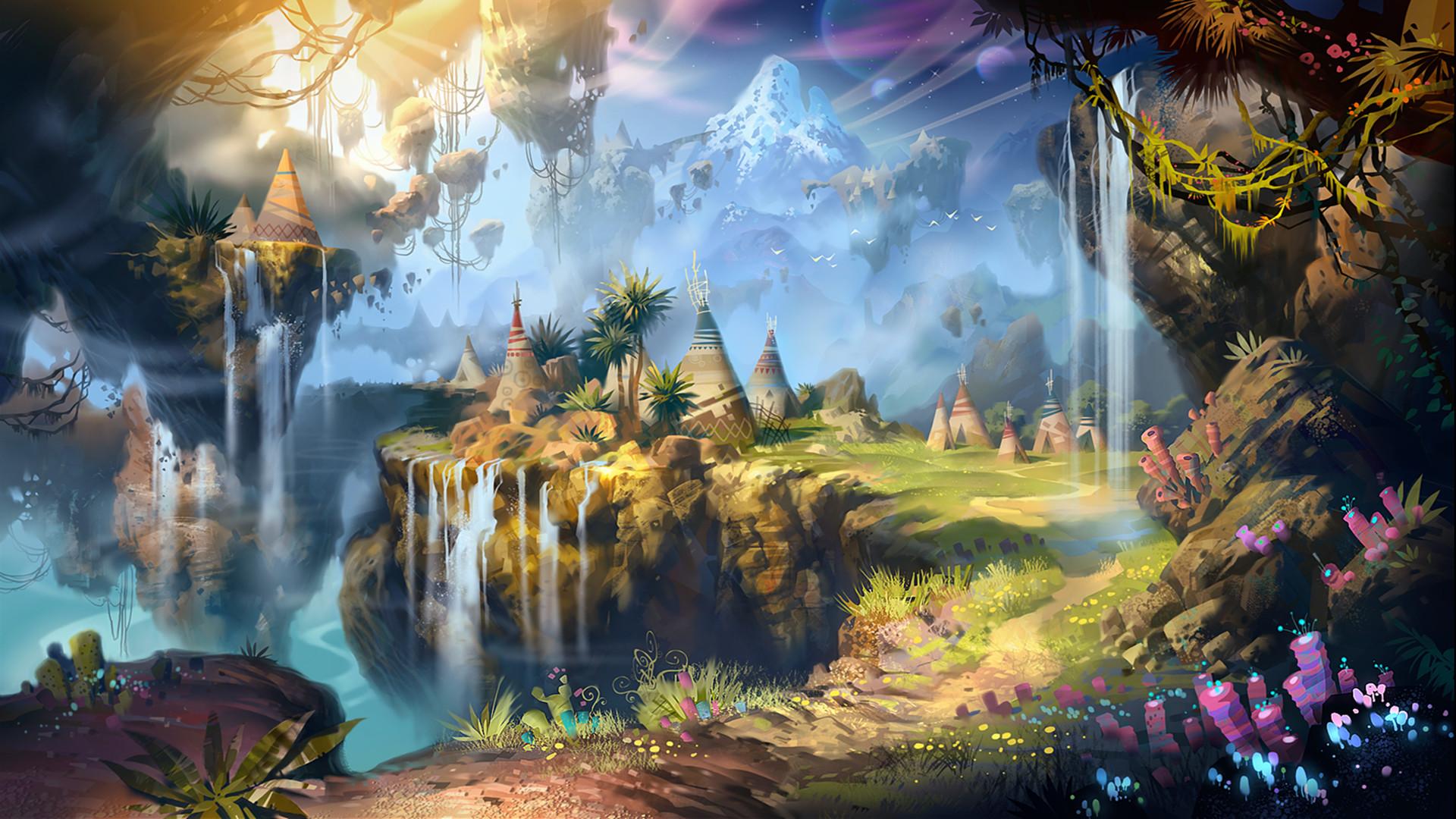 Res: 1920x1080, Fantasy - Landscape Wallpaper