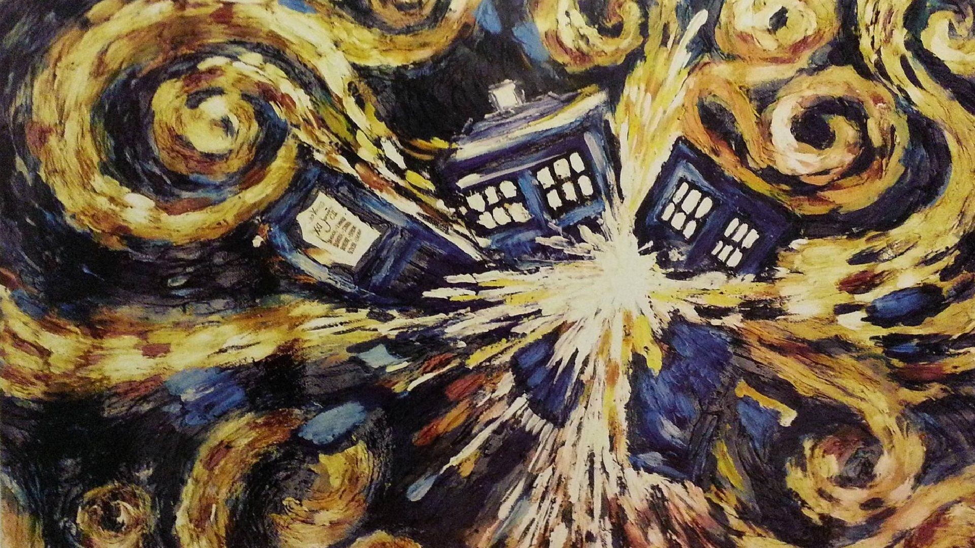 Res: 1920x1080, Dr. Who - Exploding Tardis