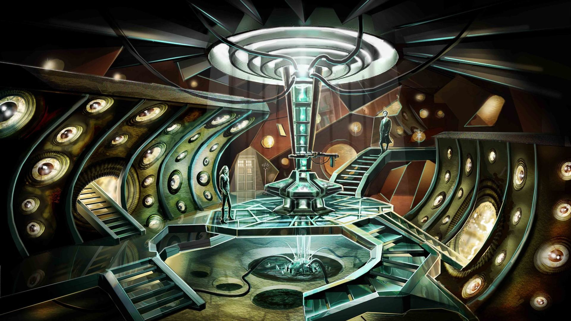 Res: 1920x1080, Tardis Concept Art, room,  HD Wallpaper and FREE Stock Photo