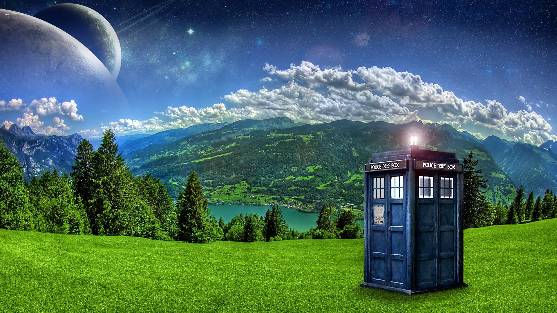 Res: 1920x1080, Wallpapers For > Tardis Wallpaper Hd