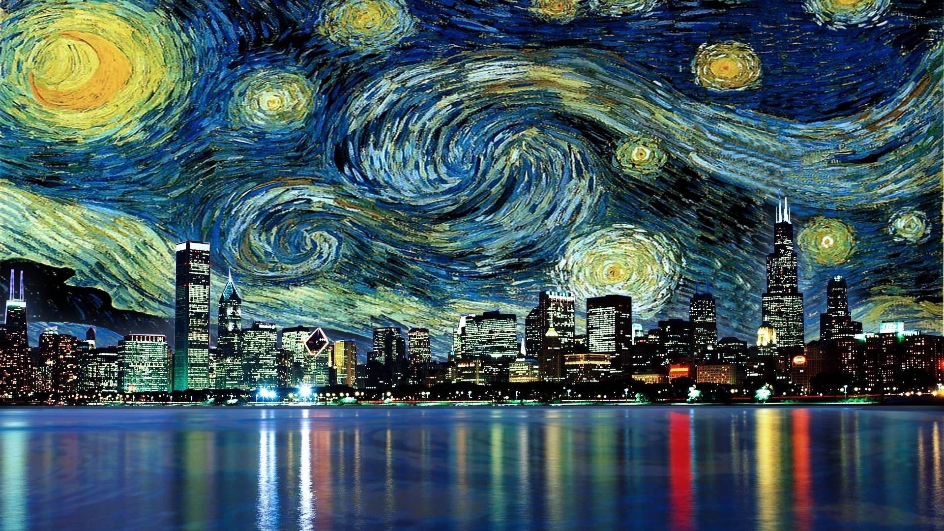 Res: 1920x1080, Van Gogh Wallpaper ① Free Amazing High Resolution