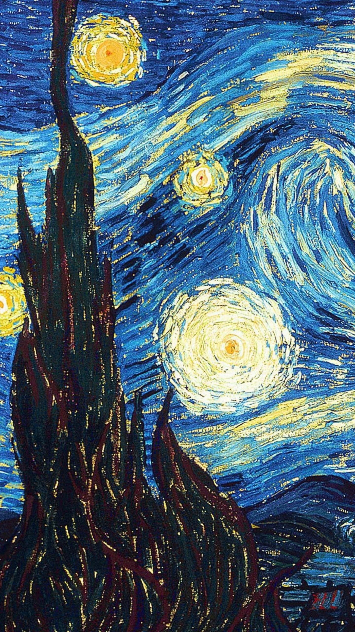 Res: 1440x2560, Batman Van Gogh Images : Resolution: , Chauncey Nealy