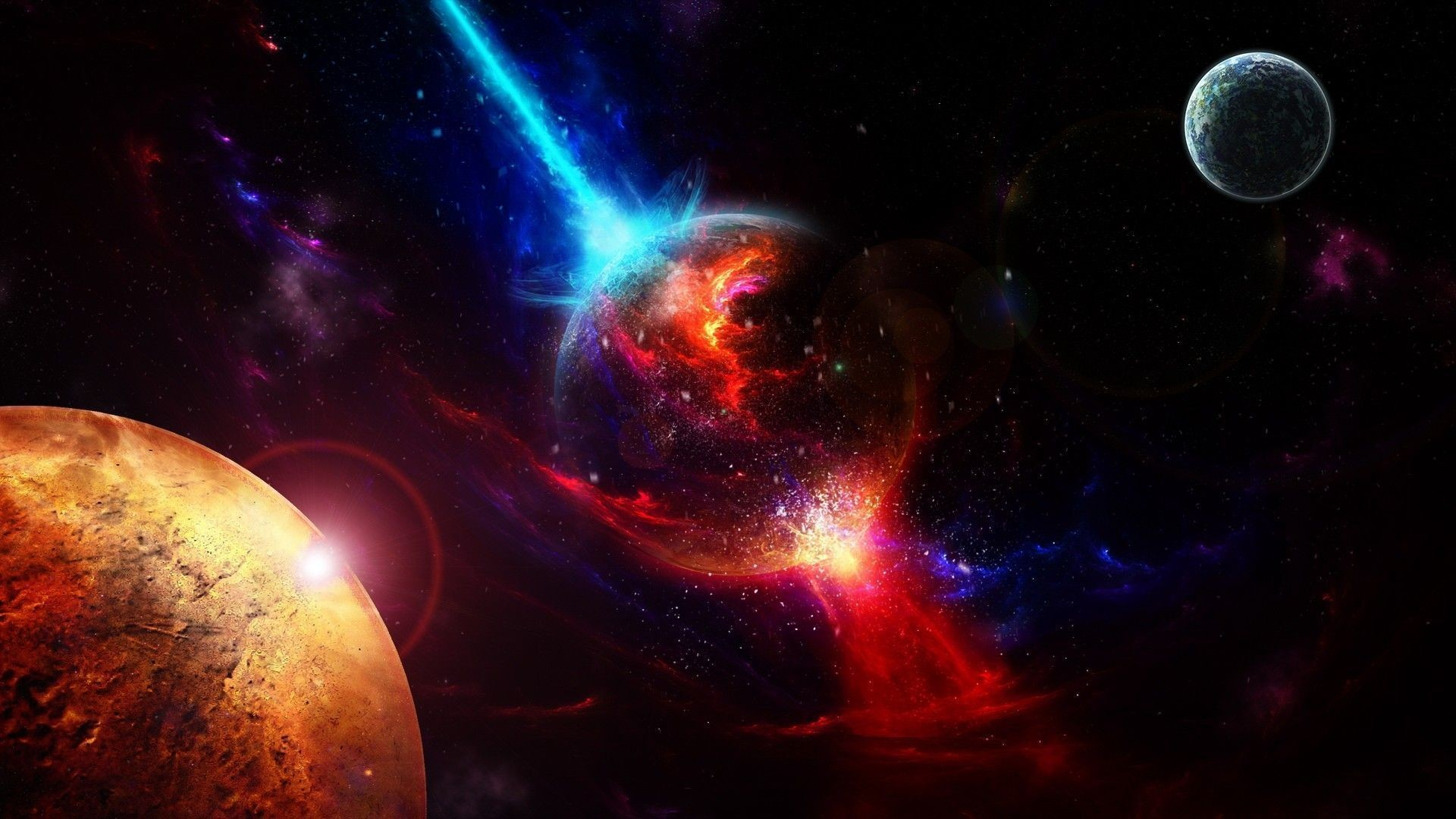 Res: 1920x1080, Space wallpaper