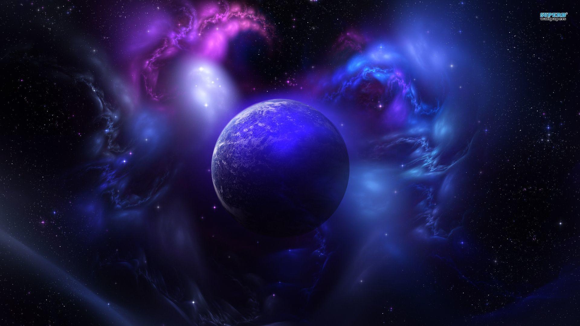 Res: 1920x1080, Planet Explosion And Nebula Fantasy 1582678   HD Desktop .