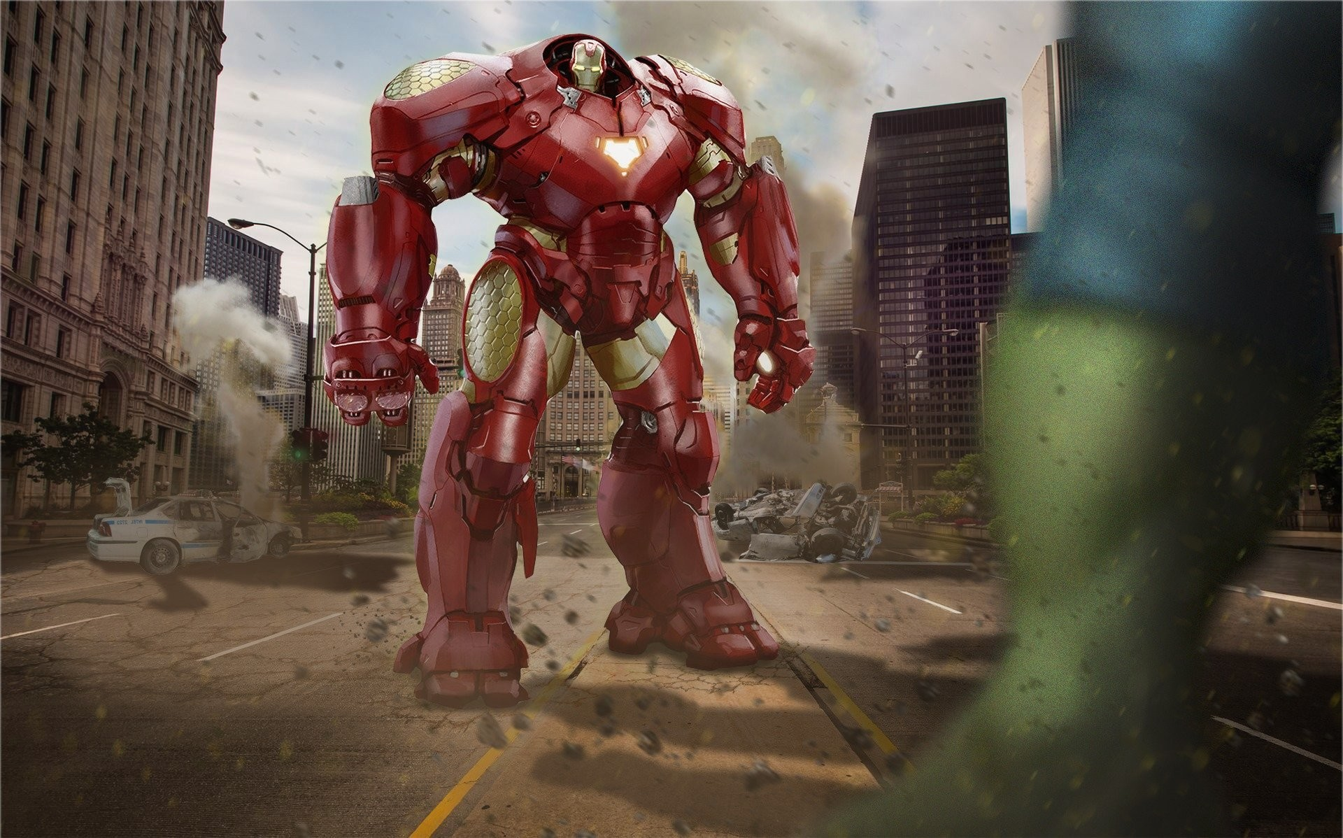 Res: 1920x1198, avengers iron man armor hulk art avengers: age of ultron hulkbuster HD  wallpaper