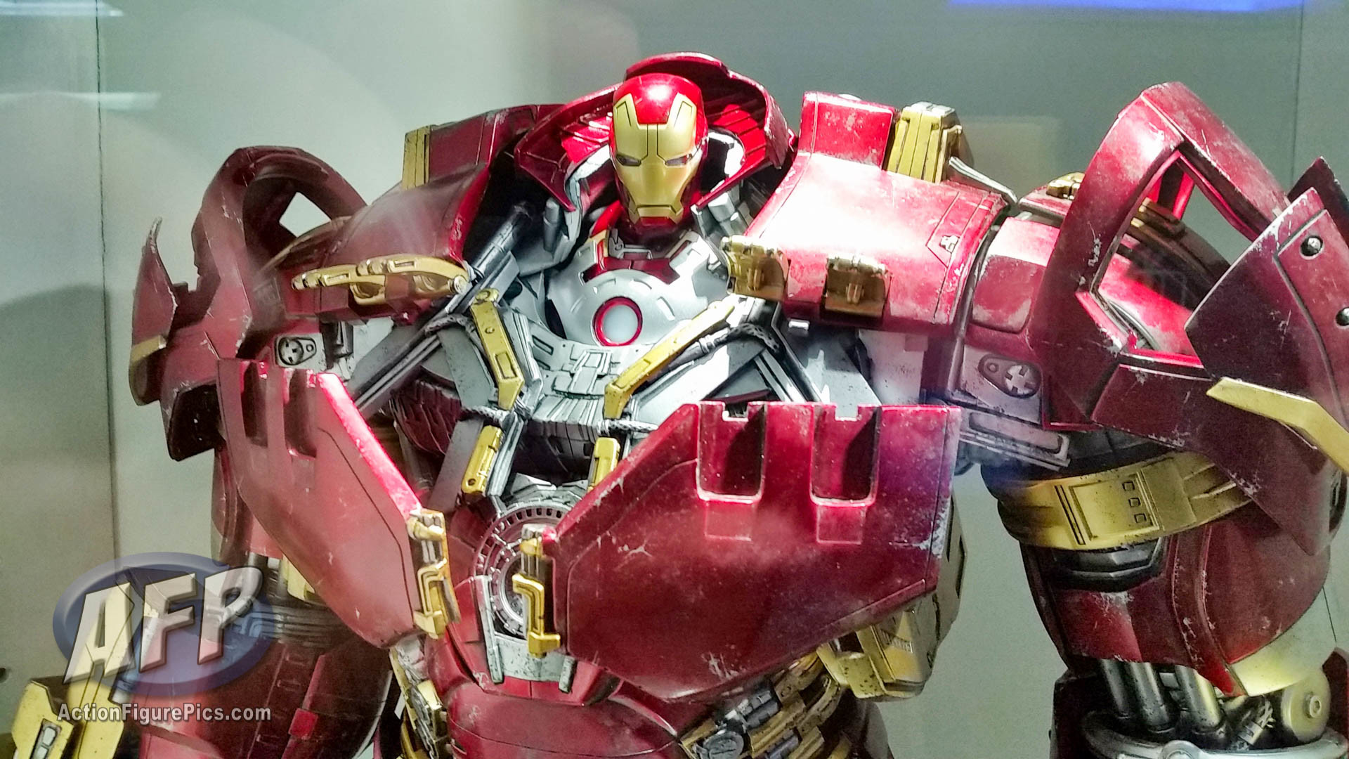 Res: 1920x1080, Hot Toys Secret Base (Hong Kong) Avengers Age of Ultron Hulkbuster Iron Man  and