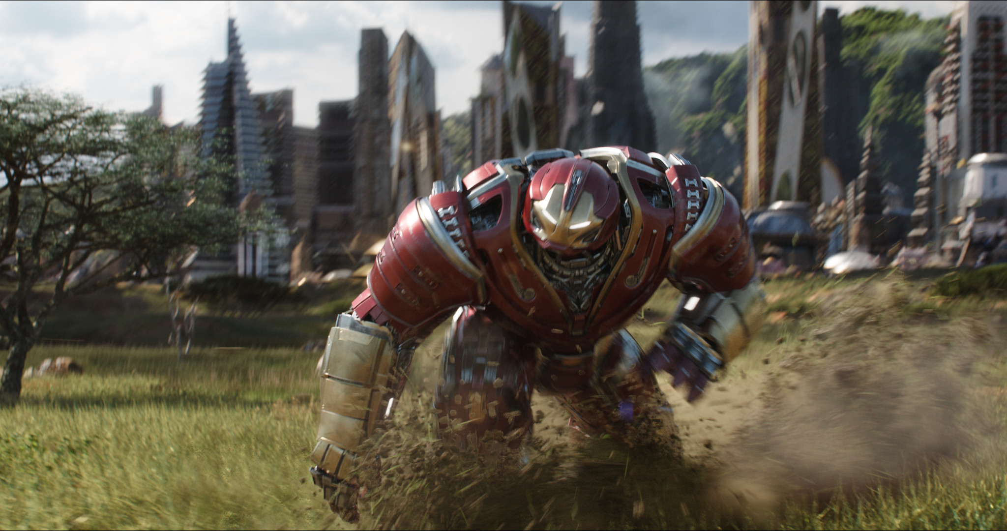 Res: 2048x1080, Filme - Avengers: Infinity War Robert Downey Jr. Iron Man Hulkbuster  Wallpaper