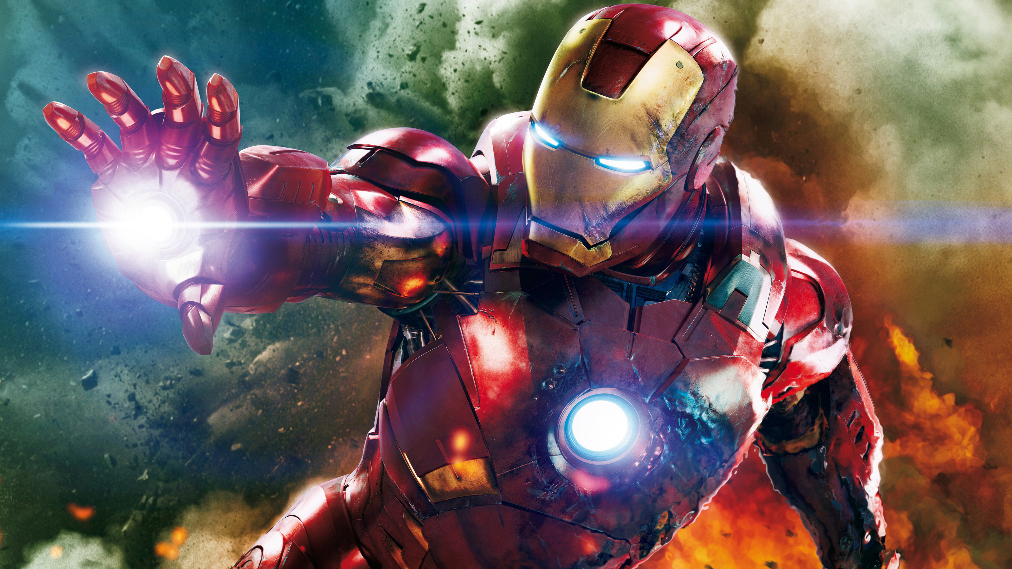 Res: 3840x2160, ... Iron Man The Avengers Wallpaper in 4K ...
