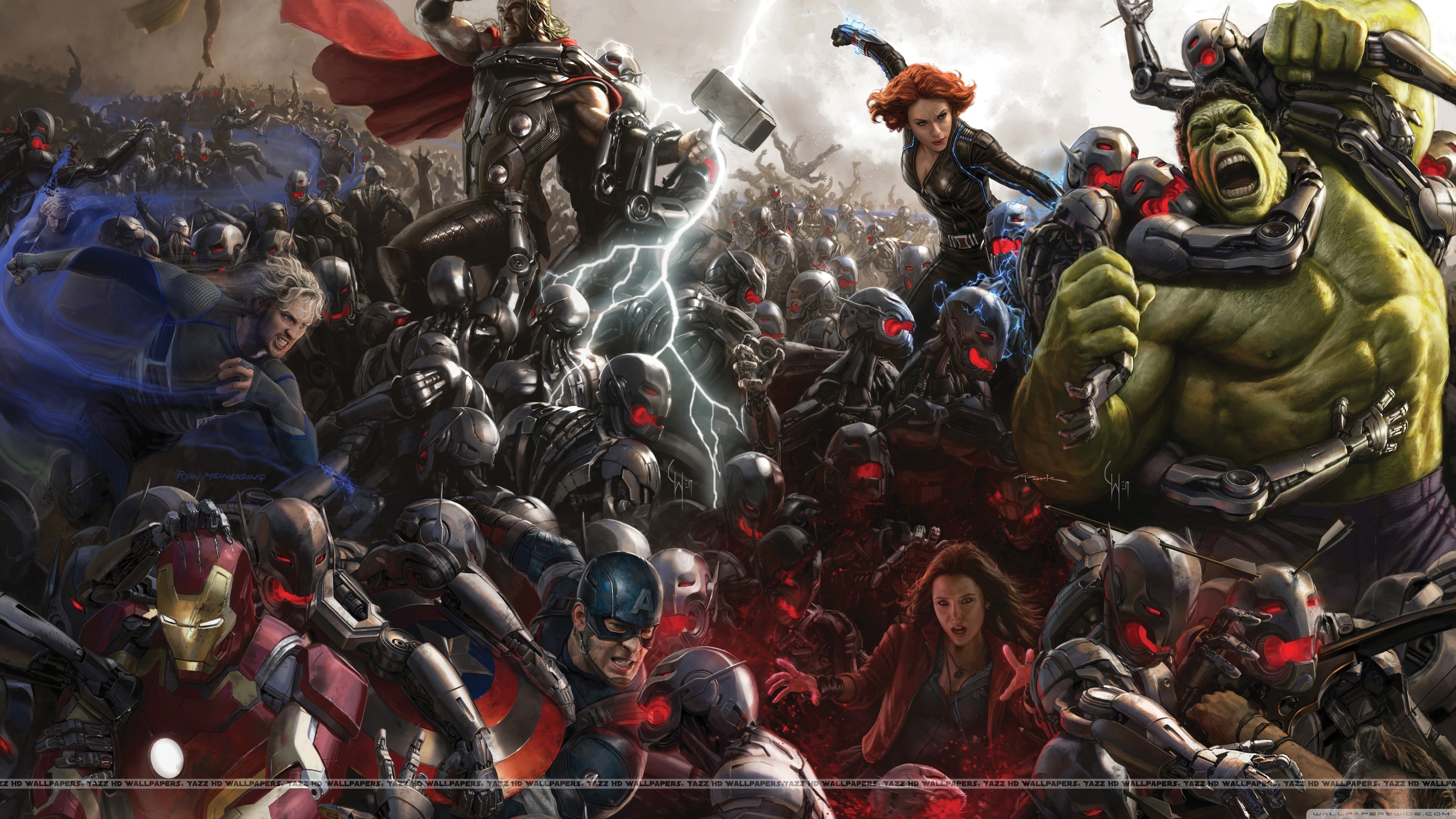 Res: 3840x2160,  Avengers Age of Ultron 4K HD Wide Wallpaper for Widescreen
