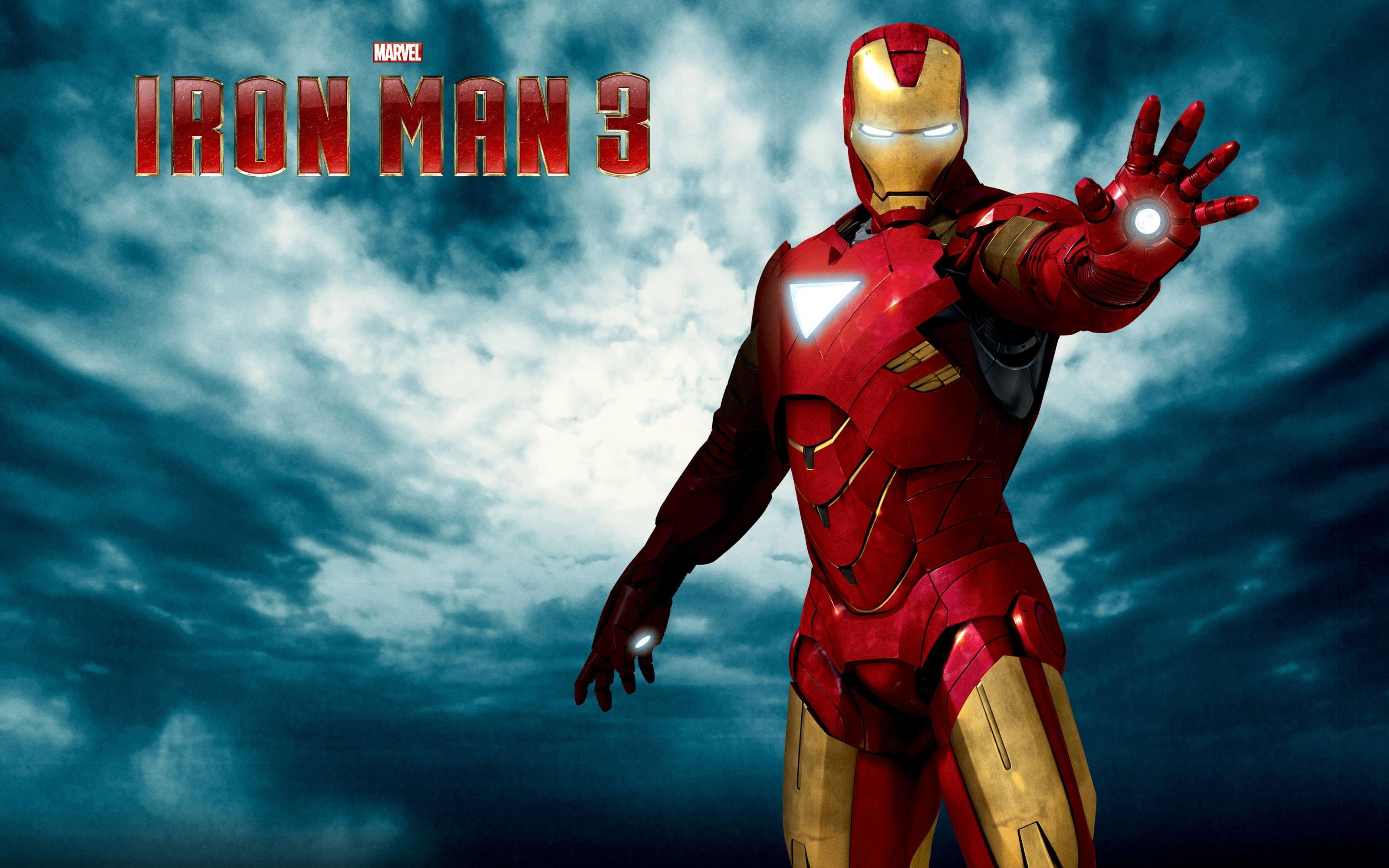 Res: 3200x2000, Iron Man Wallpaper Logo