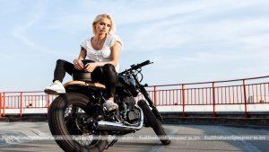 Motorcycle Girl wallpapers