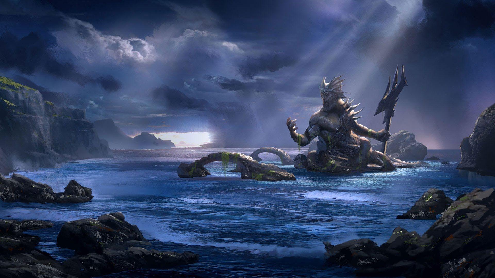 Res: 1920x1080, Poseidon Greek God | Greek Mythology : POSEIDON - YouTube