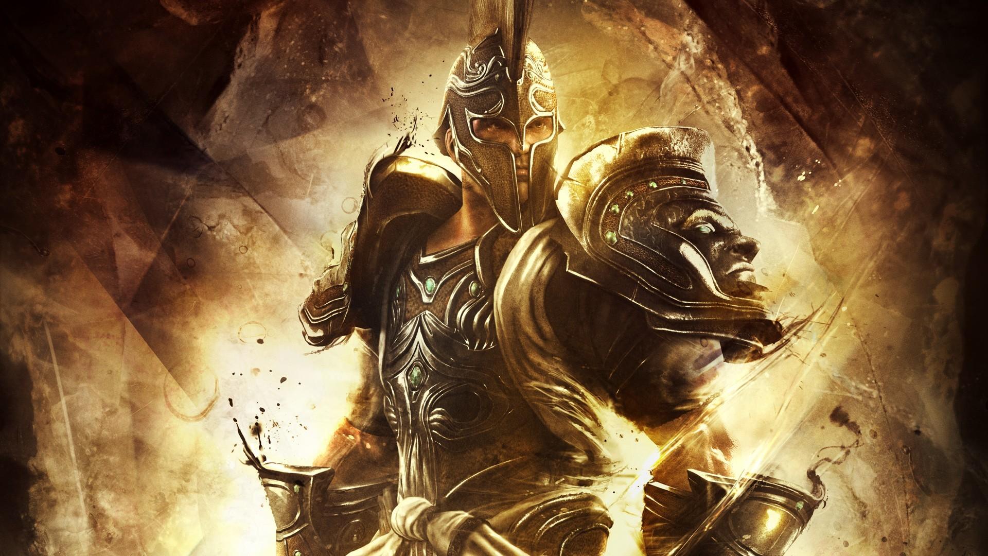 Res: 1920x1080, God of War Trojan Wallpaper