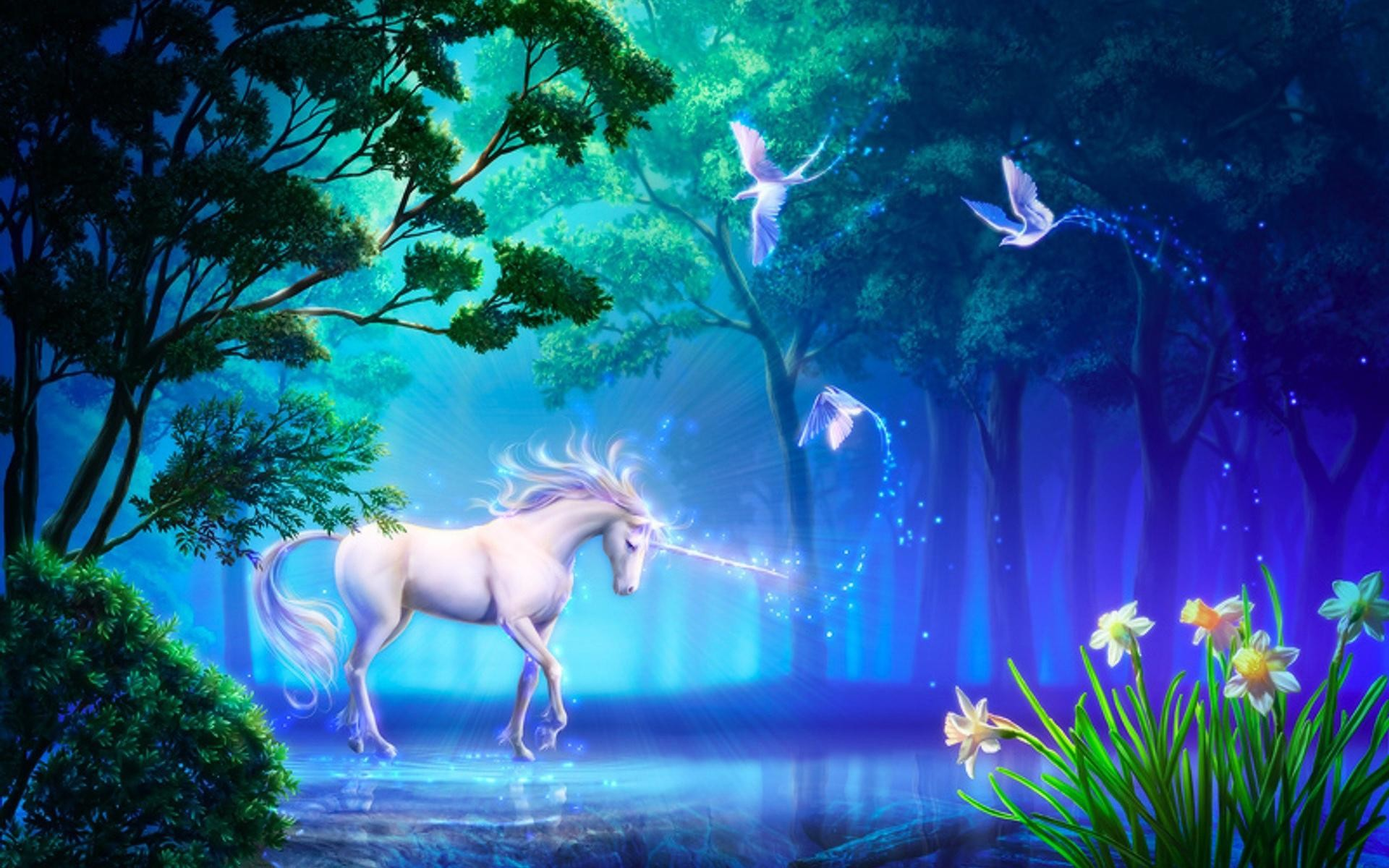 Res: 1920x1200, Unicorn Horse Greek Mythology Wallpapers HD / Desktop and Mobile Backgrounds