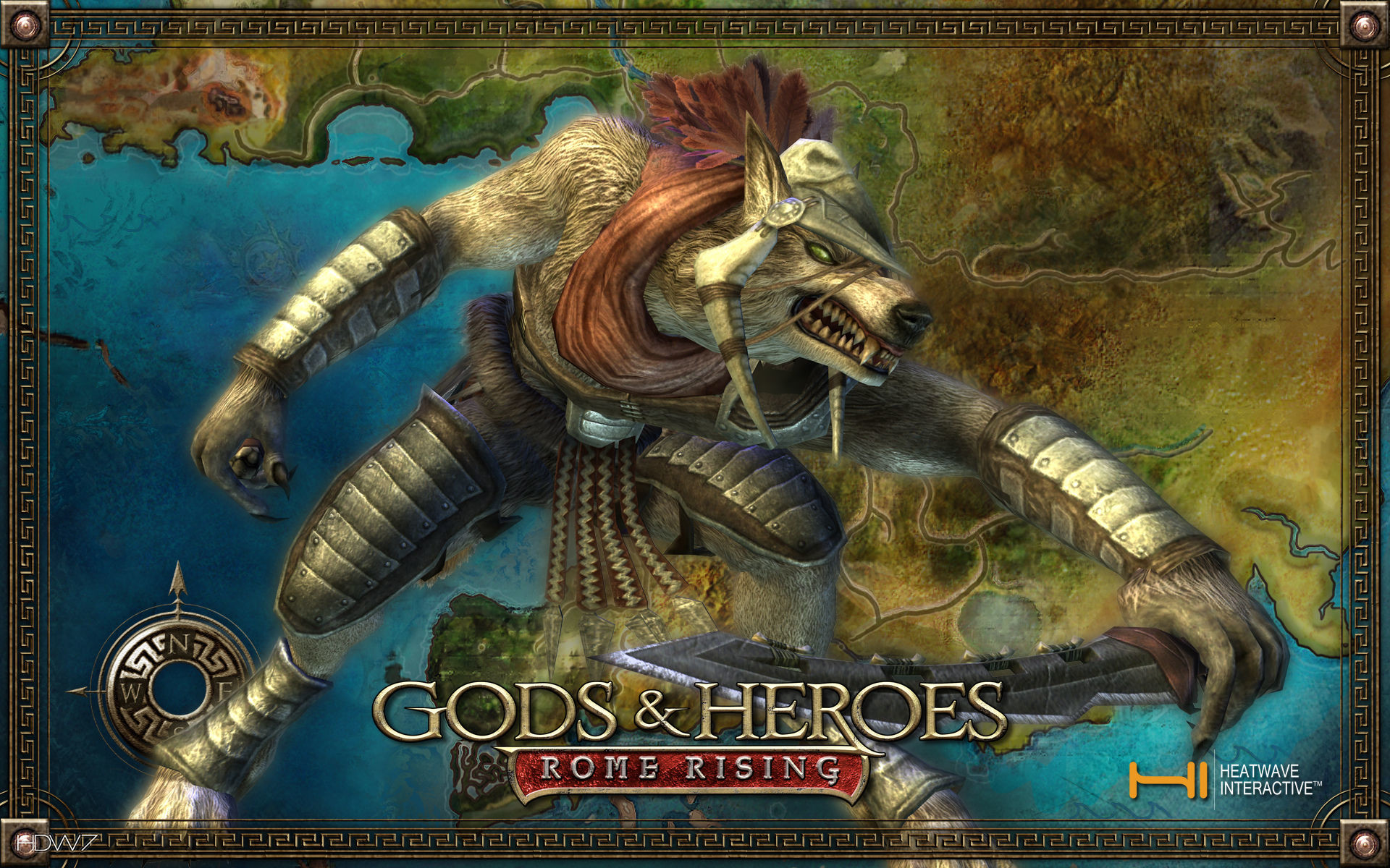 Res: 1920x1200, gods and heroes rome rising greek mythology monster widescreen wallpaper