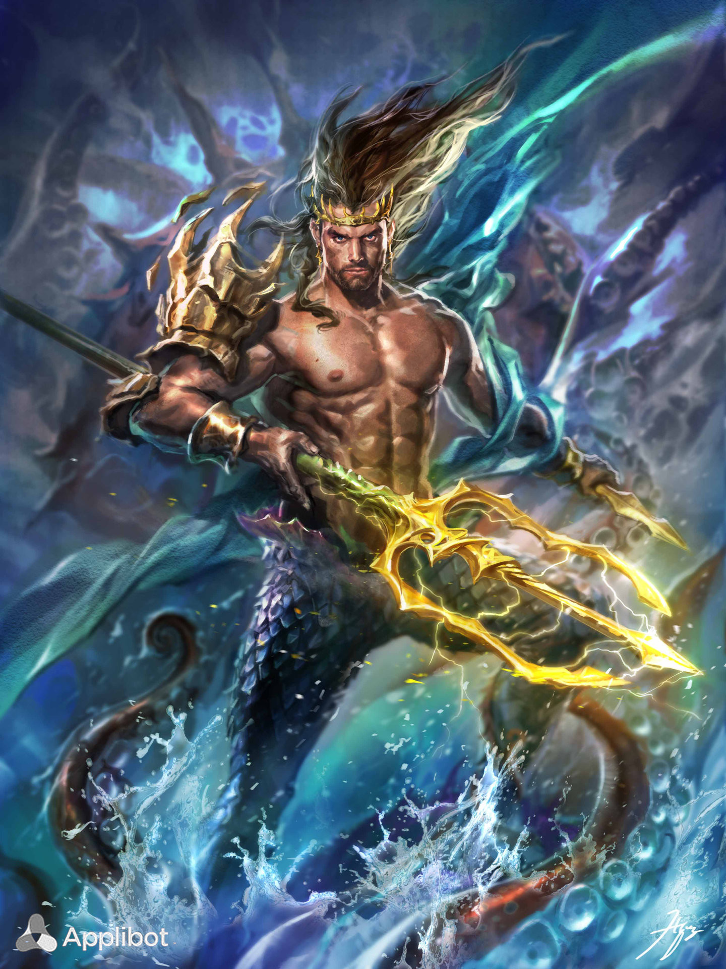 Res: 1440x1920, High Resolution Wallpaper | Poseidon  px