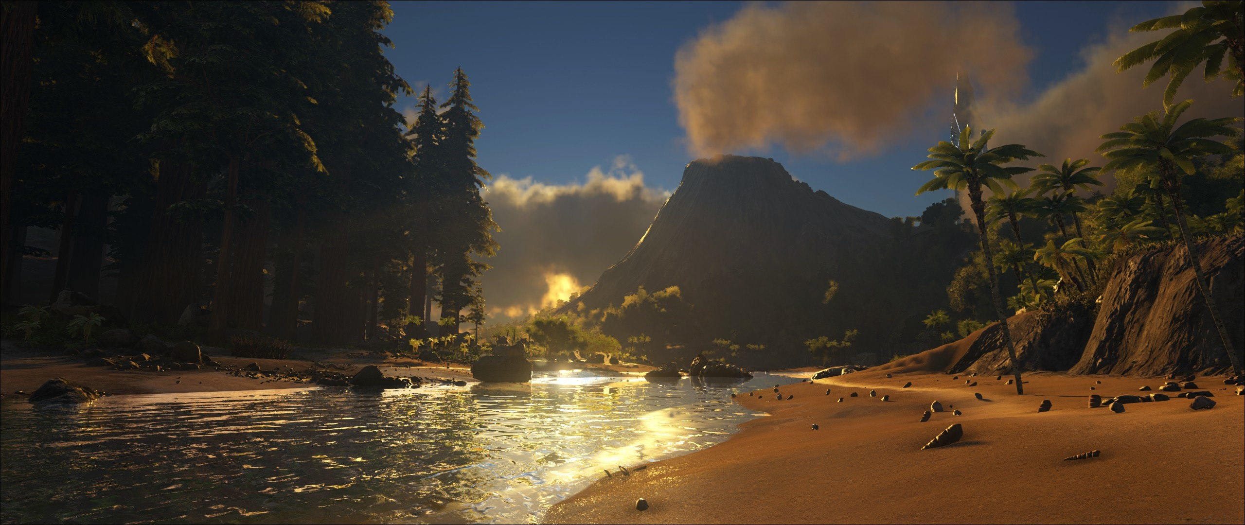 Res: 2560x1080, Video Game - ARK: Survival Evolved Wallpaper
