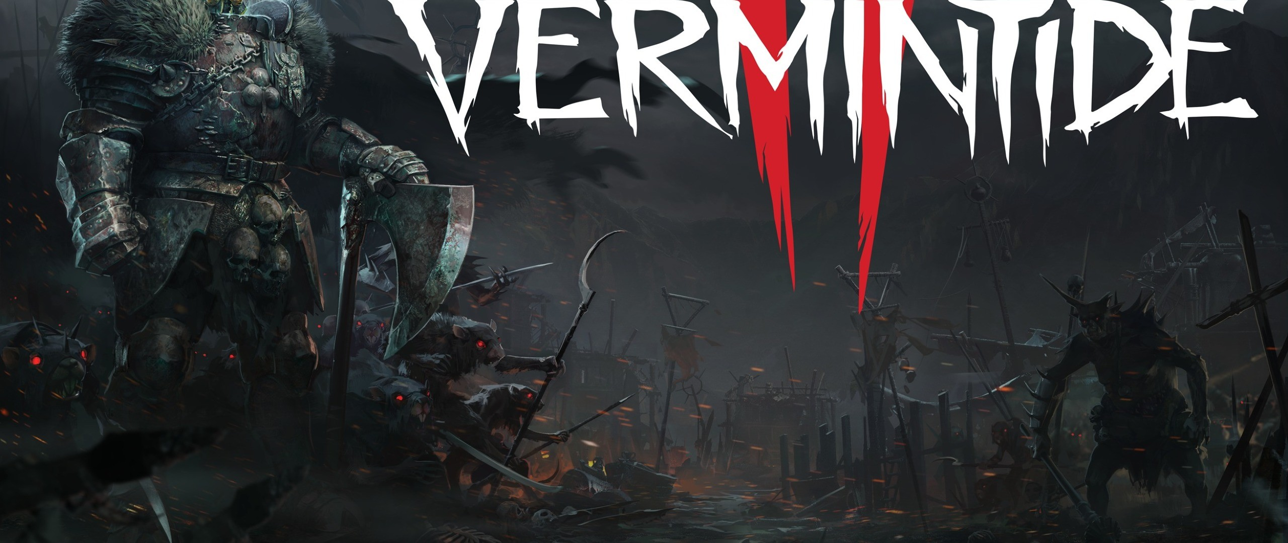 Res: 2560x1080, Warhammer: Vermintide 2 HD Wallpapers 23 - 2560 X 1080