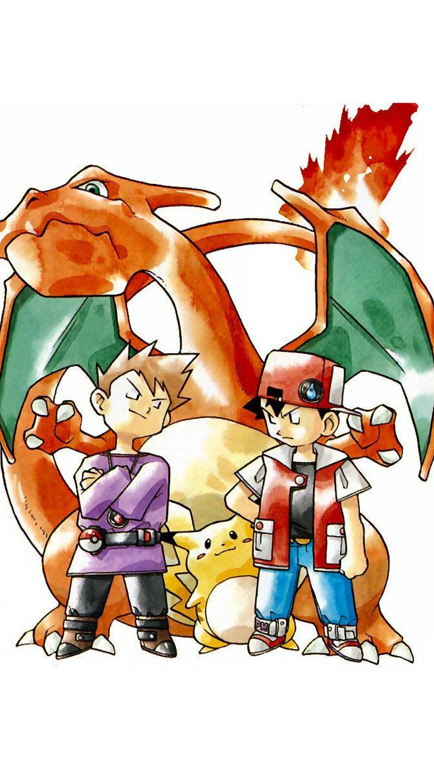 Res: 1440x2560, Pokemon Charizard Wallpaper