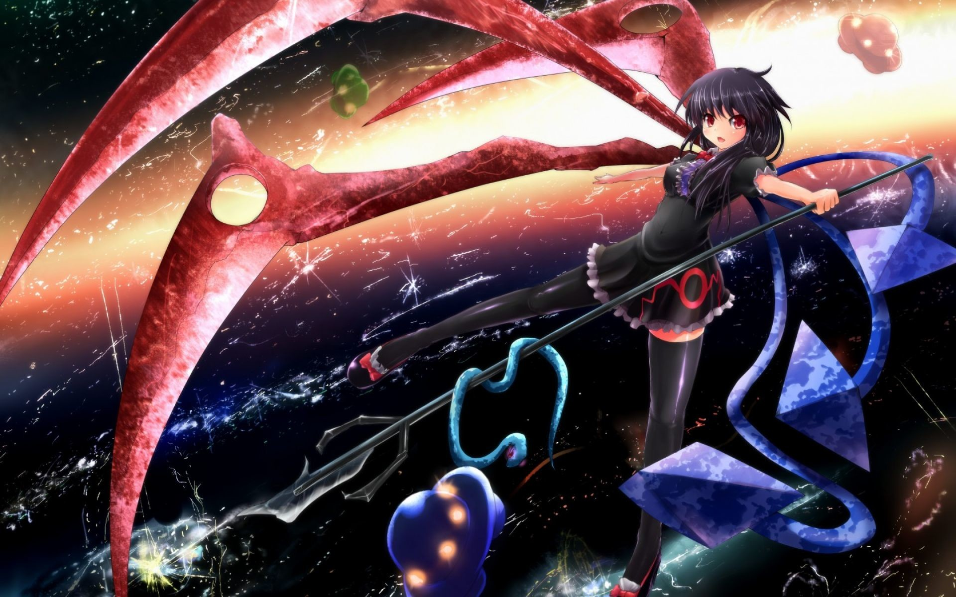 Res: 1920x1200, Girl Fighting Wallpaper | HD Anime Wallpaper Free Download ...