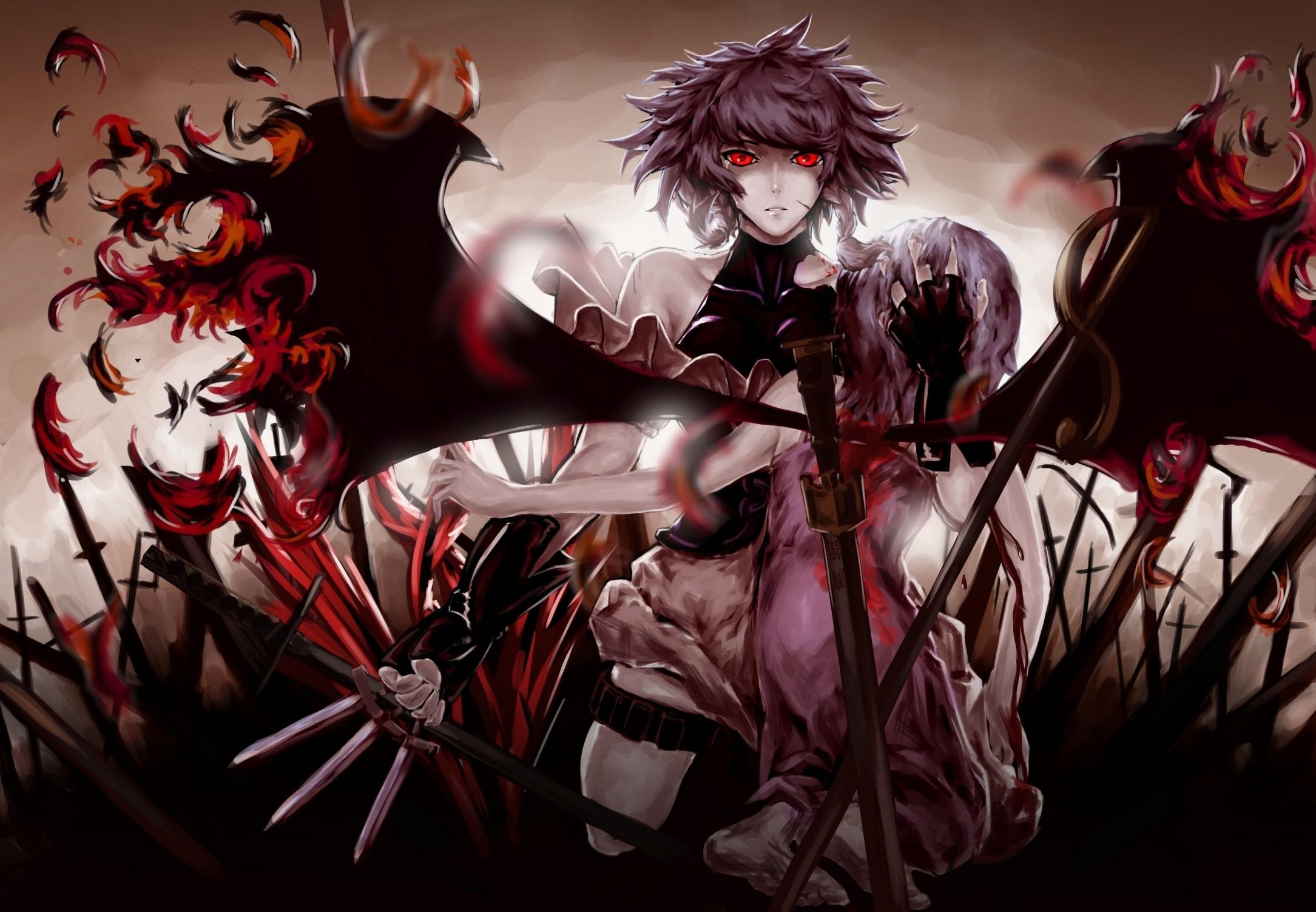 Res: 2169x1503, Red Anime Wallpaper - WallpaperSafari