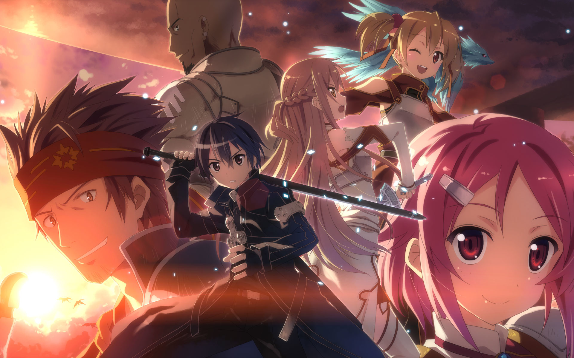 Res: 1920x1200, 10 Unique Sword Art Online Wallpapers Daily Anime Art - HD Wallpapers