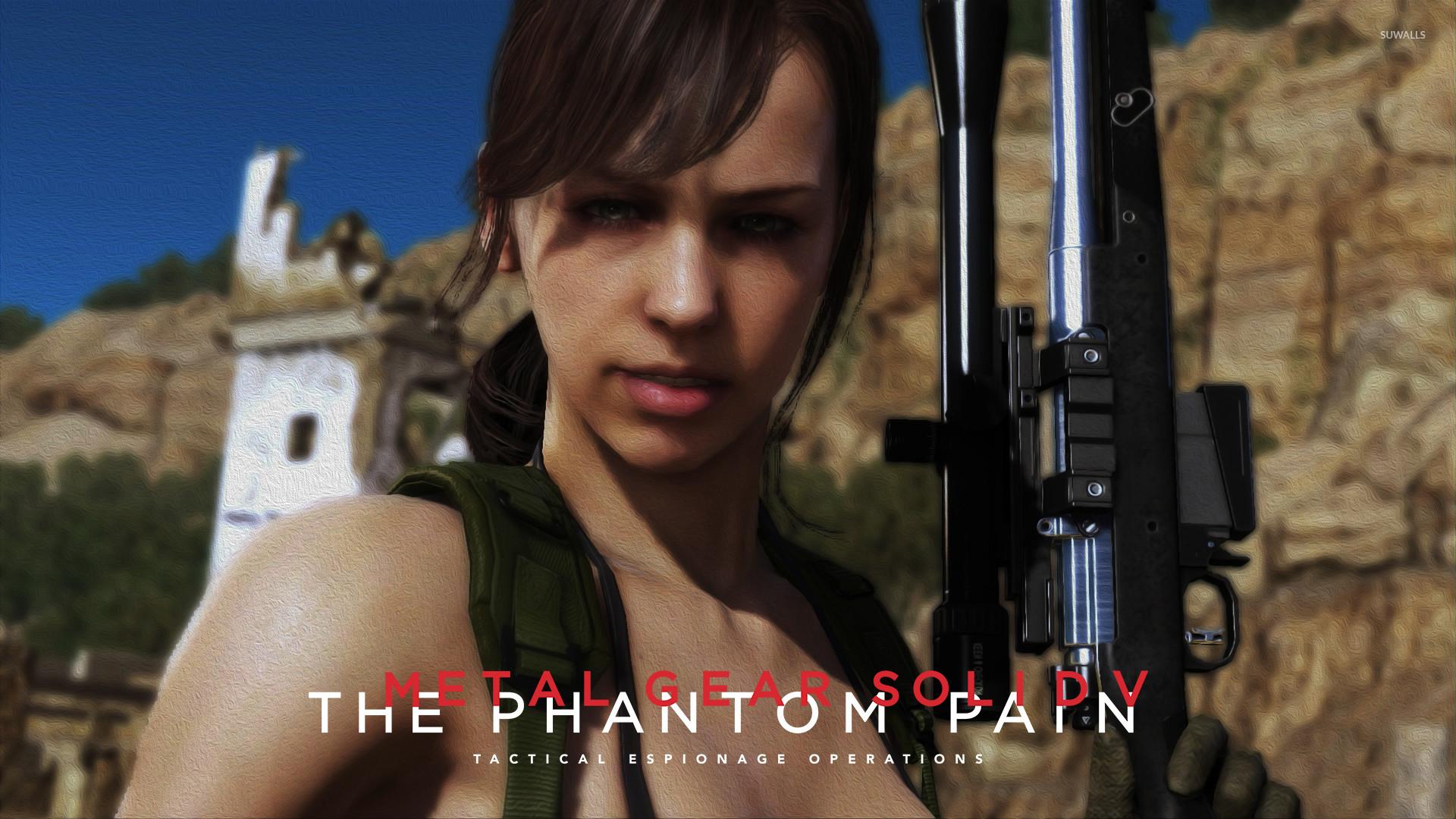Res: 1920x1080, Quiet - Metal Gear Solid V: The Phantom Pain wallpaper