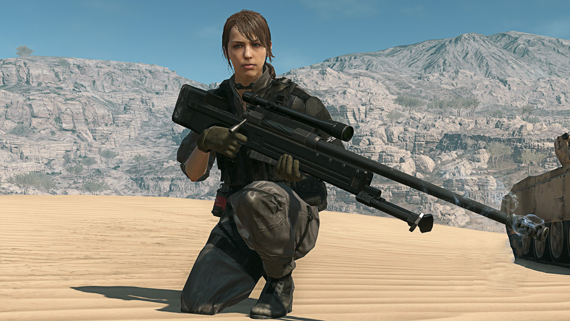 Res: 1920x1080, ... Quiet - Combat Gear - Metal Gear Solid V by BillyM12345