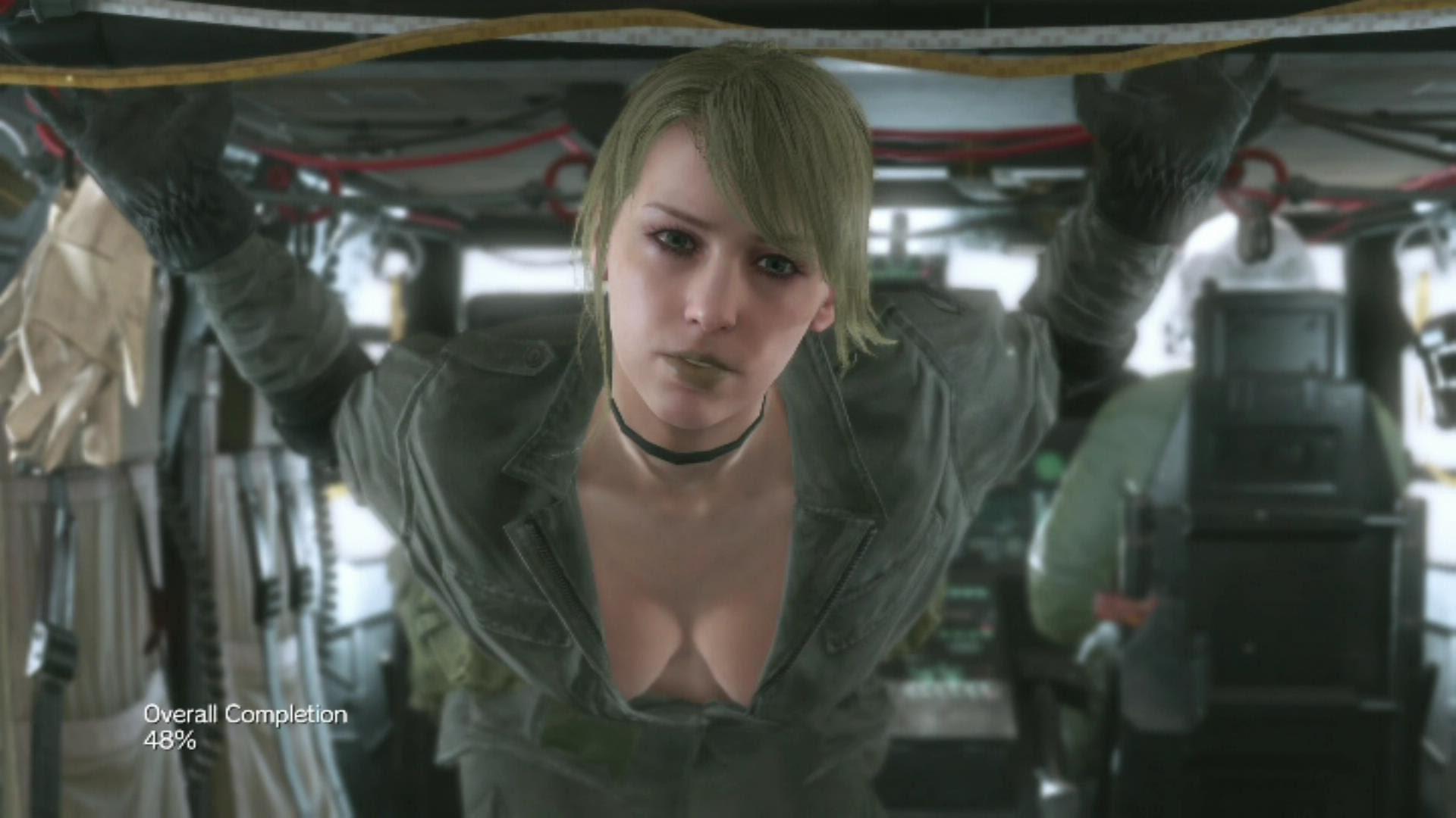 Res: 1920x1080, Quiet All Skins Metal Gear Solid 5 V Phantom Pain Sniper Wolf Grey XOF